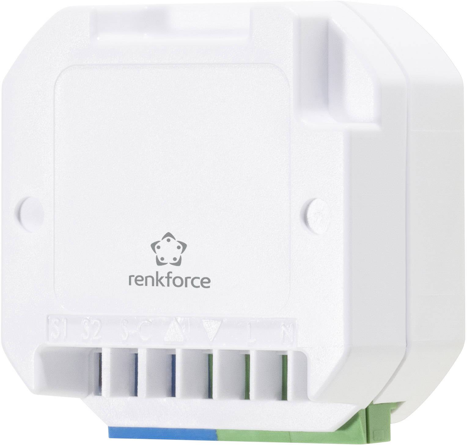 Vstavaný bezdrôtový ovládač roliet RENKFORCE RS2W, max. 500 W