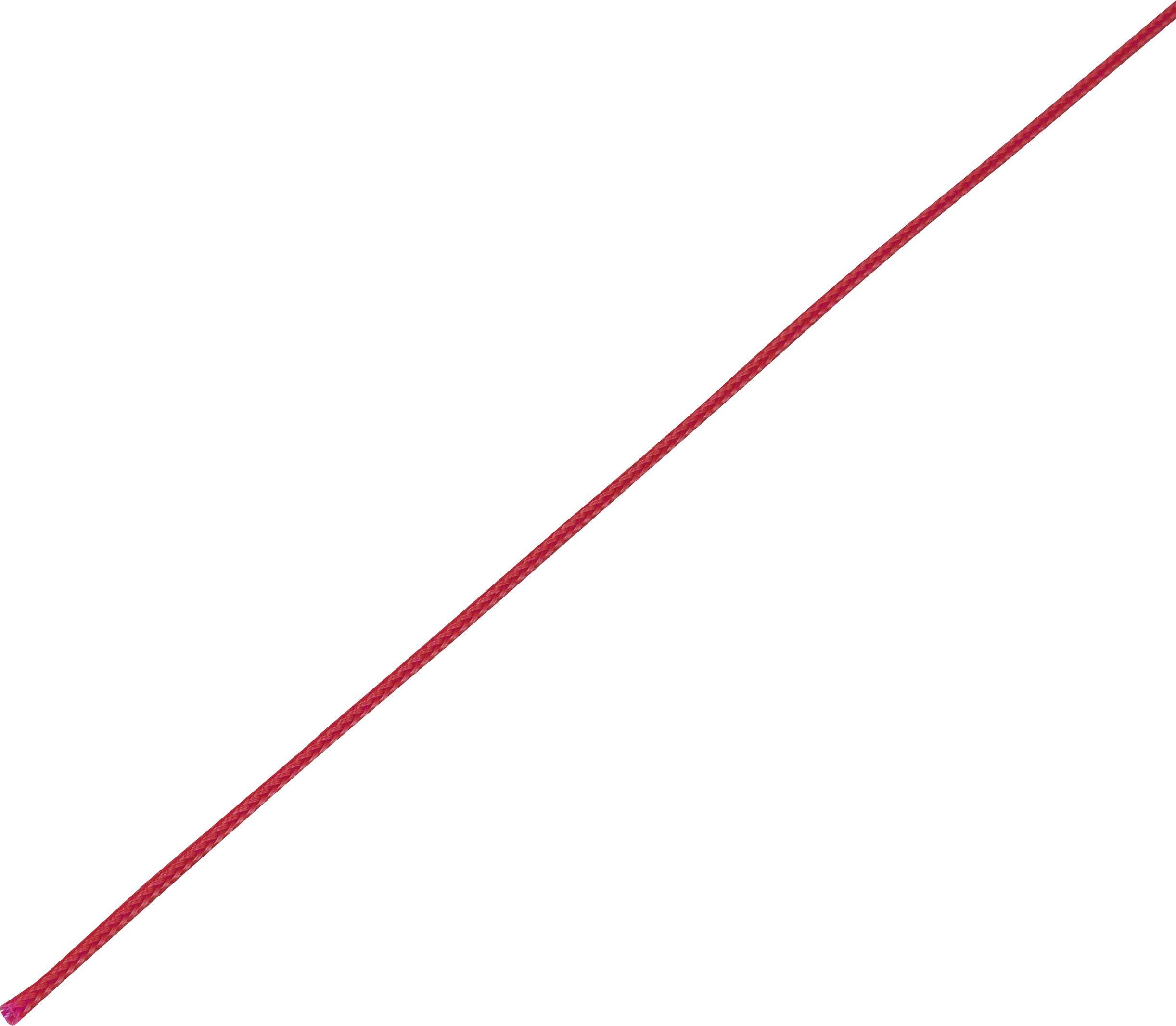 Ochranné opletenie CBBOX0307-RD Ø zväzku: 3 - 7 mm červená 10 m