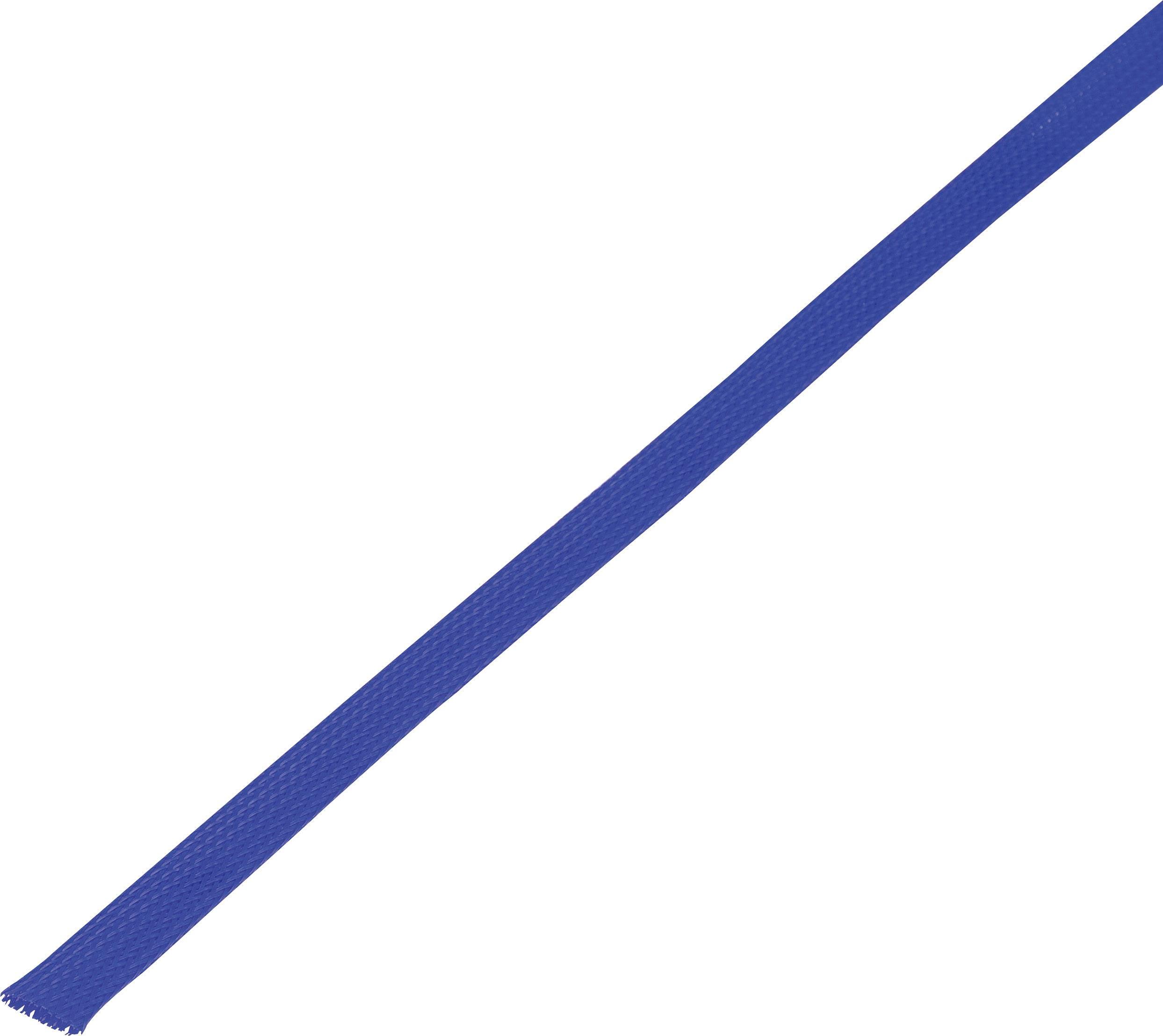 Ochranné opletenie CBBOX0814-BL Ø zväzku: 8 - 14 mm modrá 10 m