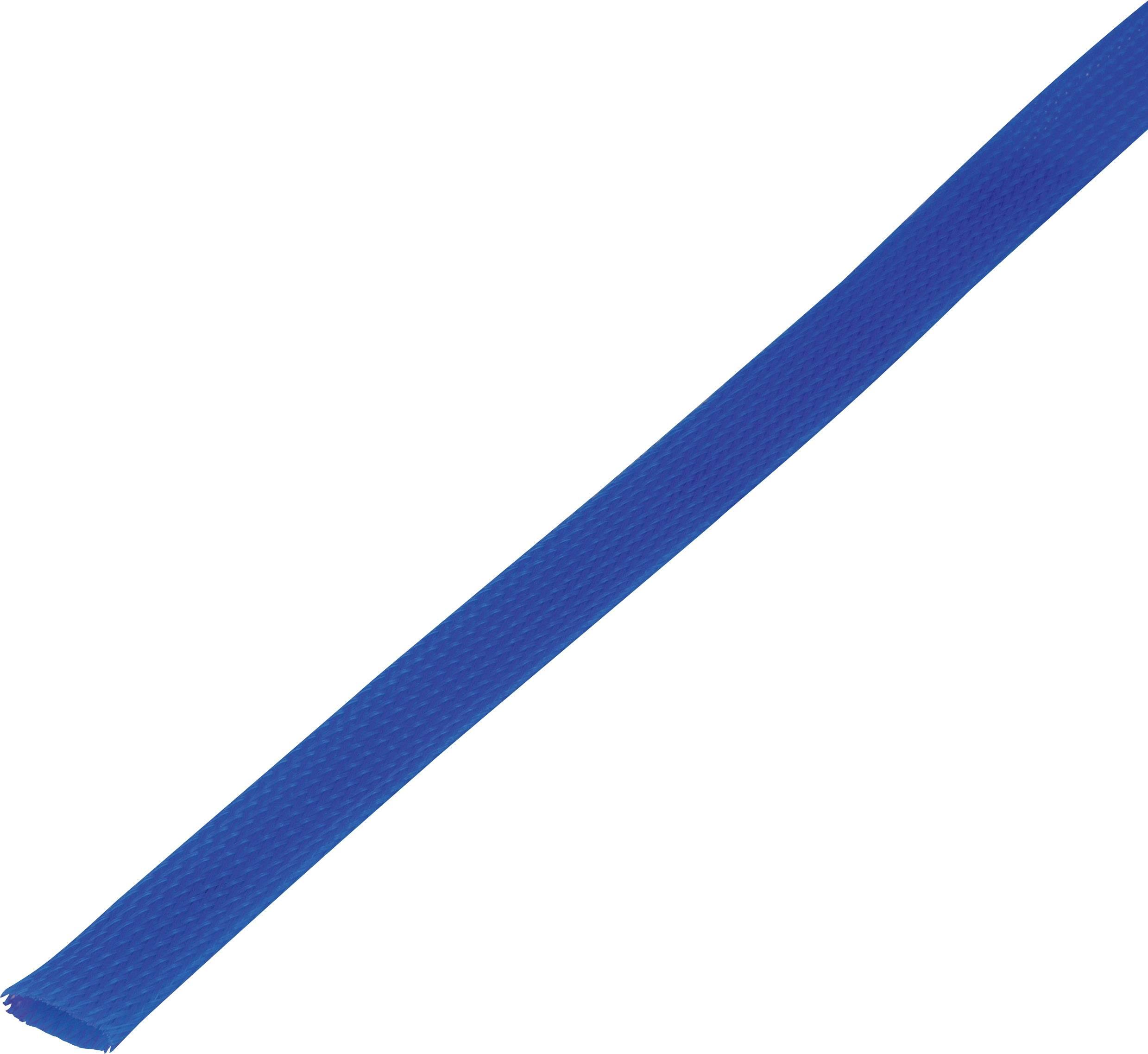 Ochranné opletenie CBBOX3037-BL Ø zväzku: 30 - 37 mm modrá 5 m