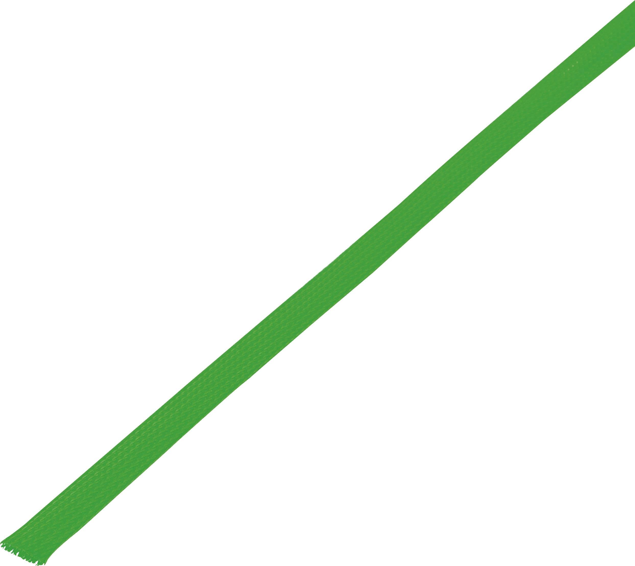 Ochranné opletenie CBBOX0510-GN Ø zväzku: 5 - 10 mm zelená 10 m