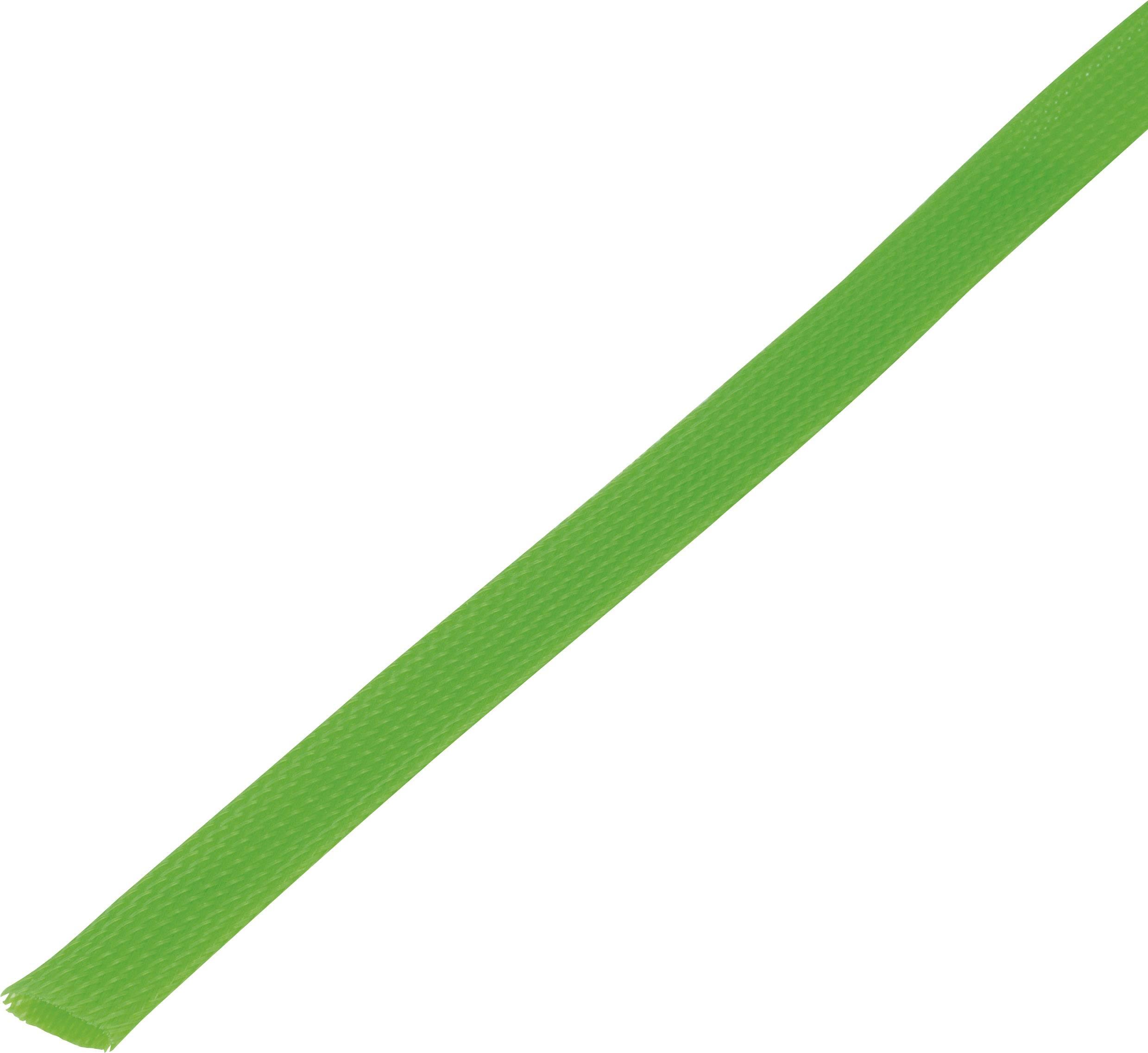 Ochranné opletenie CBBOX2028-GN Ø zväzku: 20 - 28 mm zelená 5 m