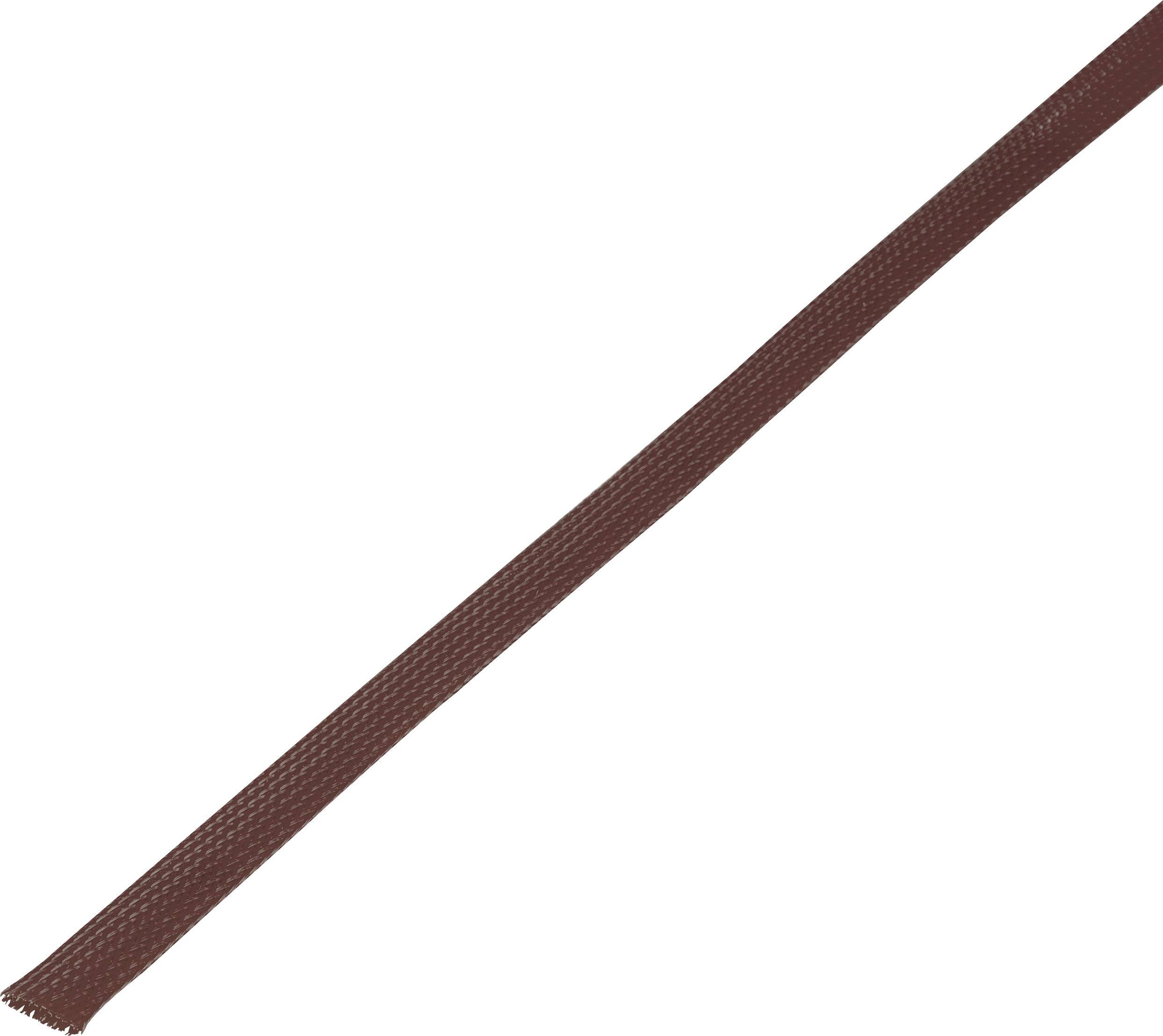 Ochranné opletenie CBBOX0510-BN Ø zväzku: 5 - 10 mm hnedá 10 m
