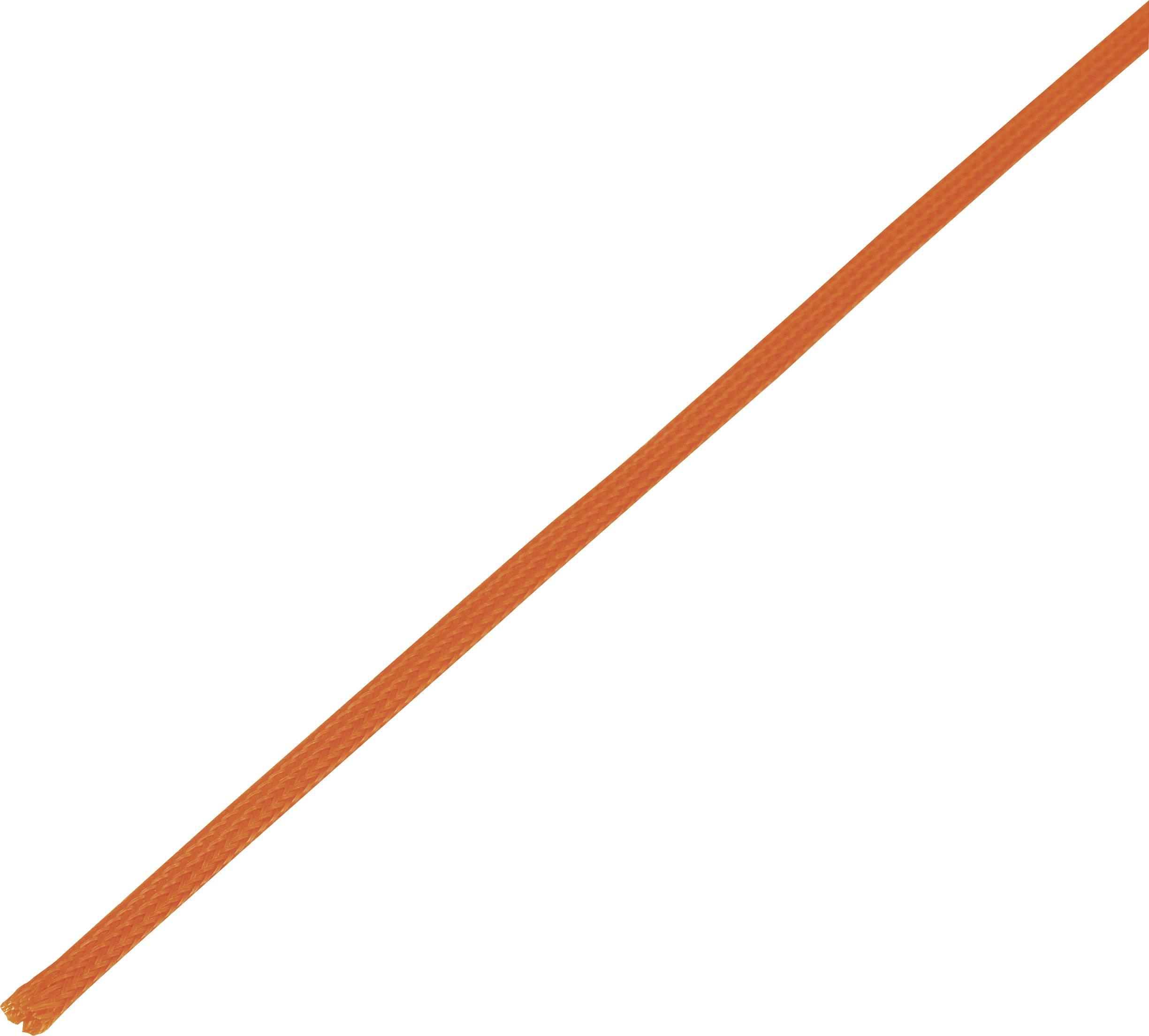 Ochranné opletenie CBBOX0510-OR Ø zväzku: 5 - 10 mm oranžová 10 m