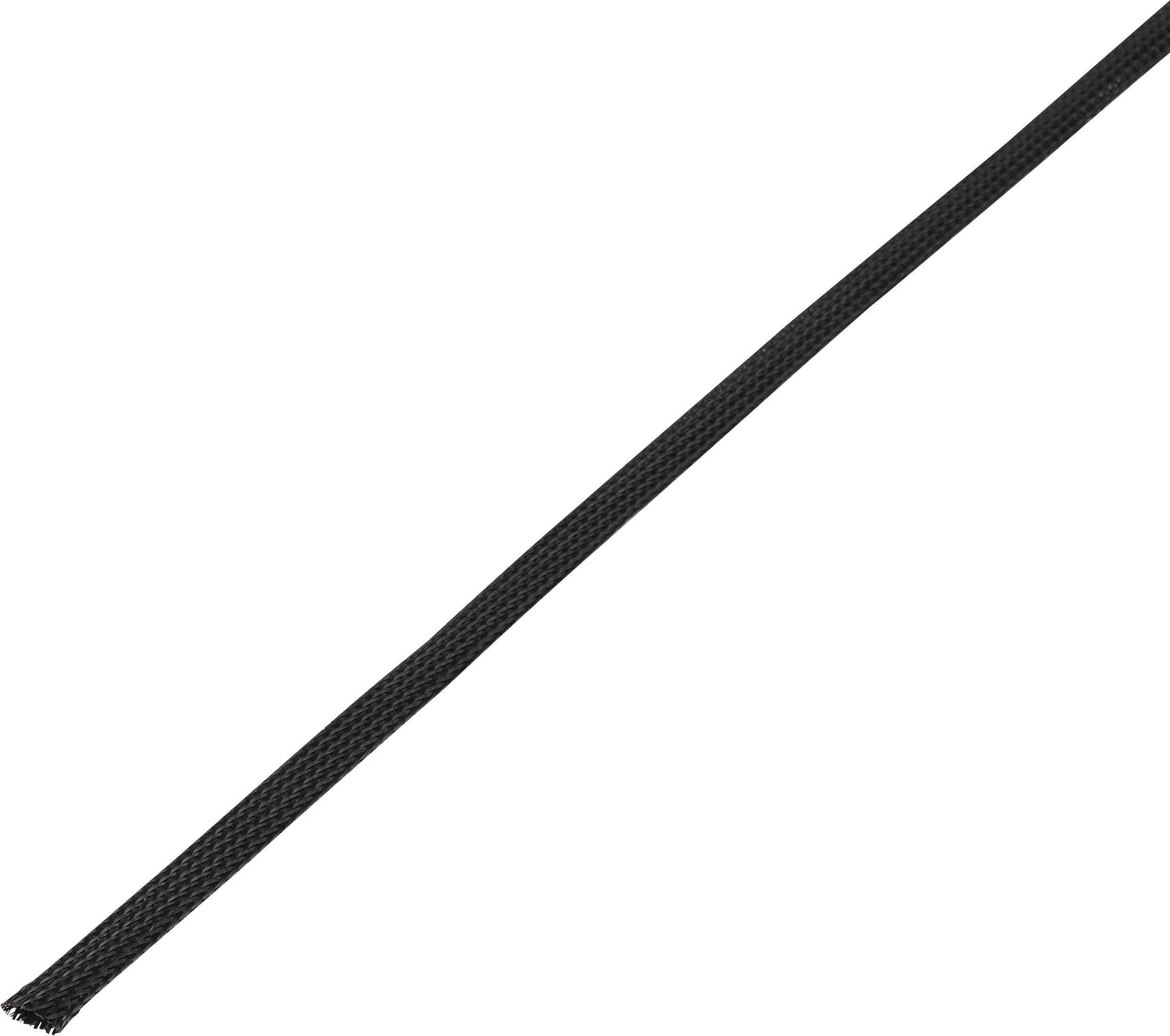 Ochranné opletenie CBBOX0814-BK Ø zväzku: 8 - 14 mm čierna 10 m