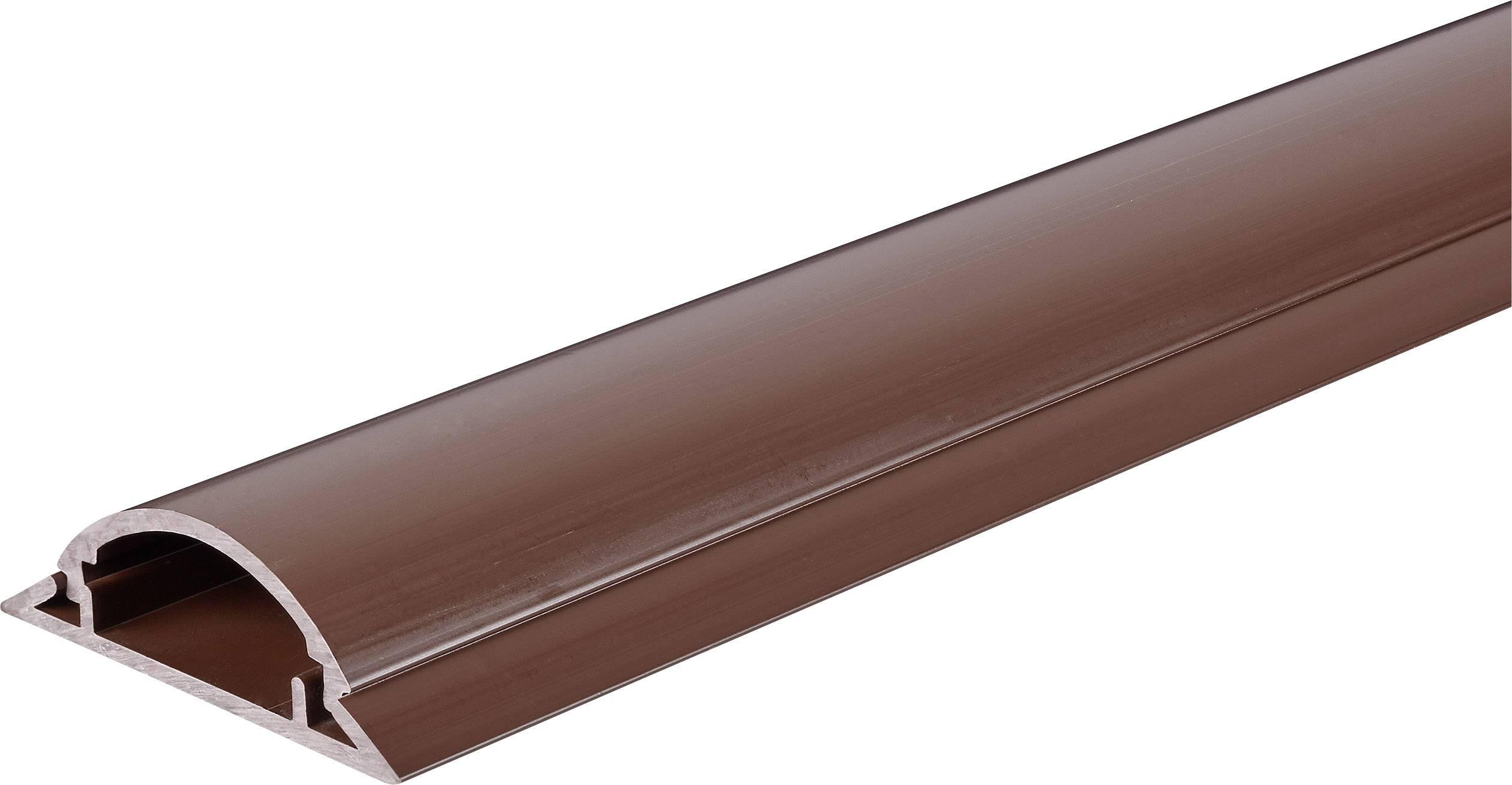 Kabelový můstek Conrad 1243966, hnědá, 1000 x 49,5 mm