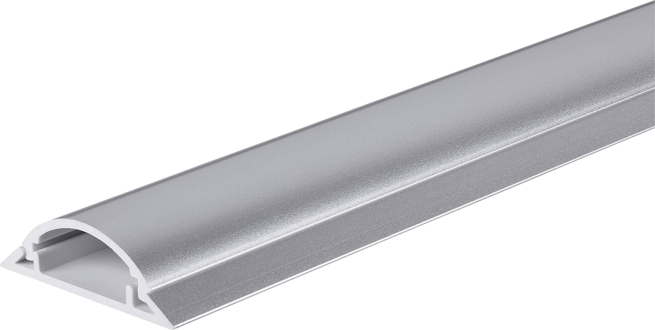 Kabelový můstek Conrad 1243968, stříbrná, 1000 x 49,5 mm