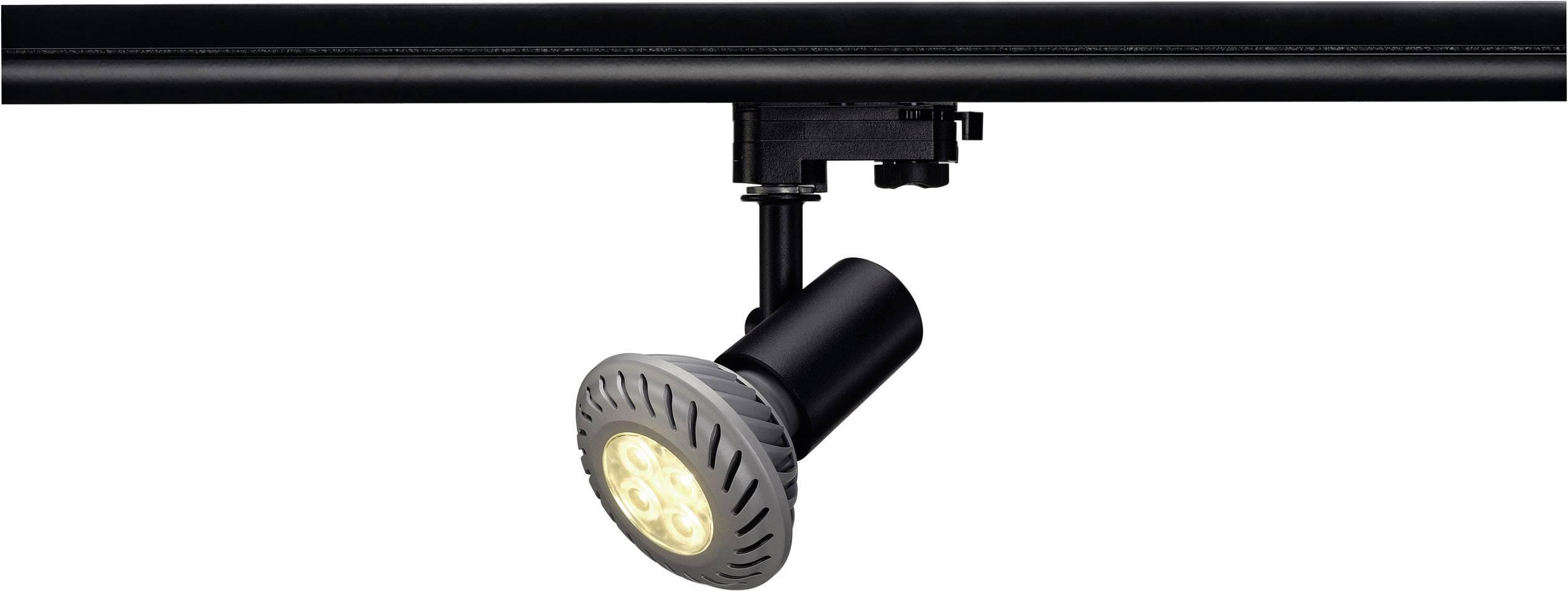 Svítidla do lištových systémů (230 V) SLV E27 152200, 75 W, černá