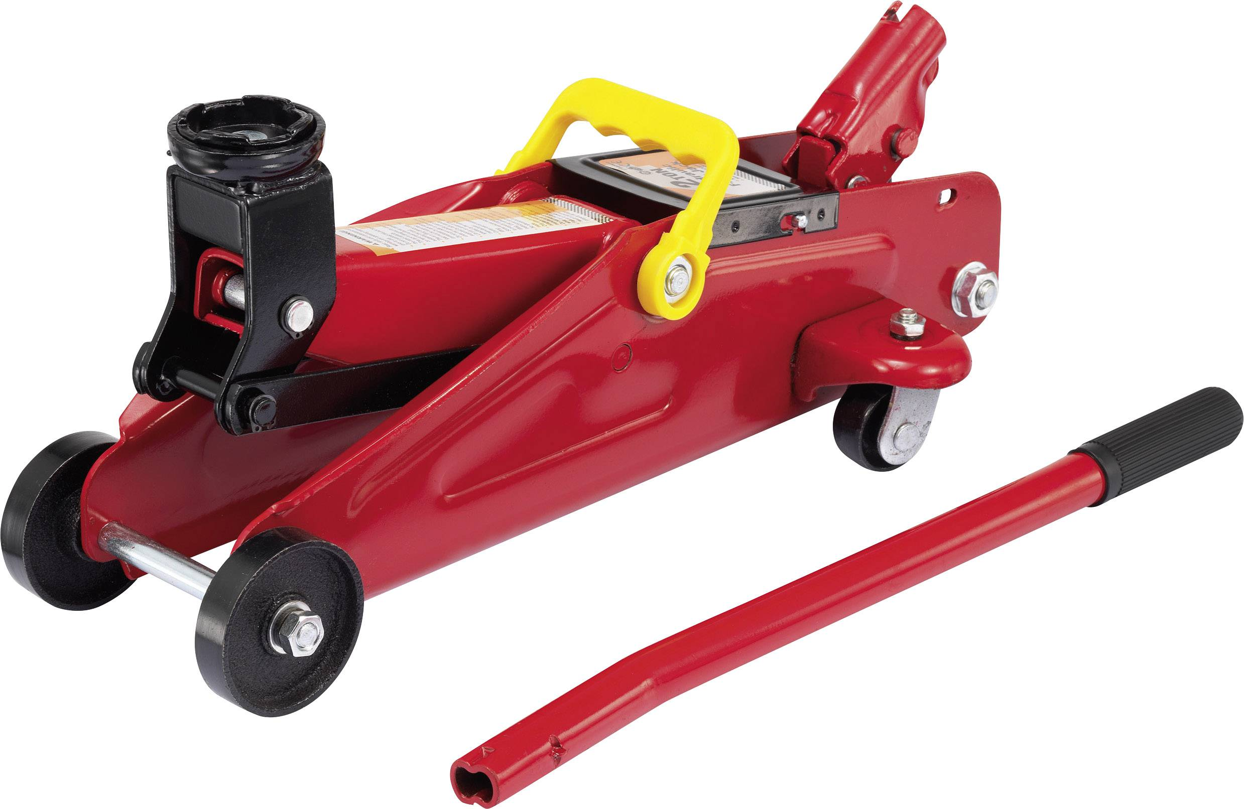 Hydraulický pojazdný autozdvihák baset, 2 t