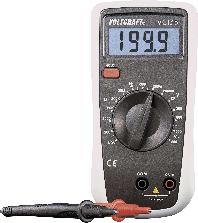 Digitálne/y ručný multimeter VOLTCRAFT VC135