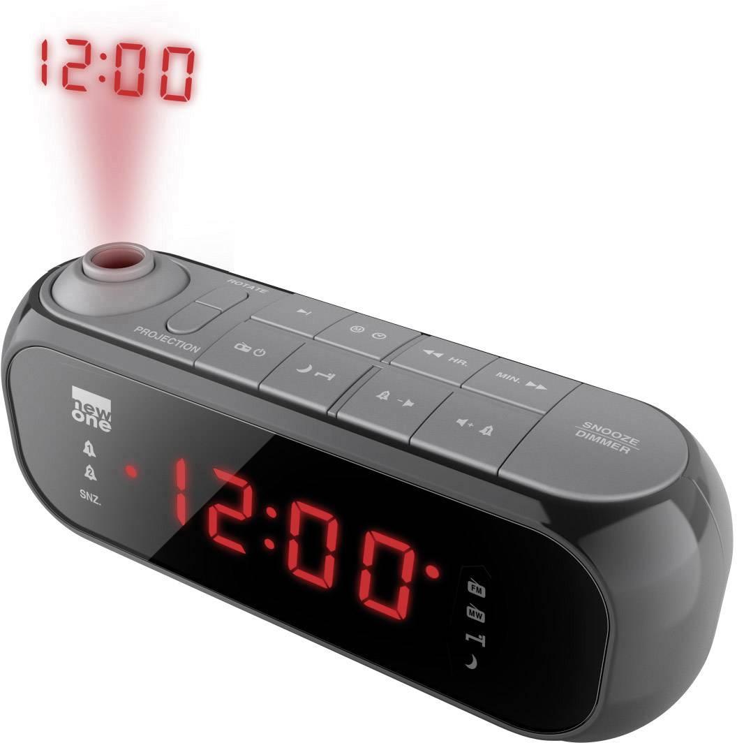 FM rádiobudík new one CR 135 čierna