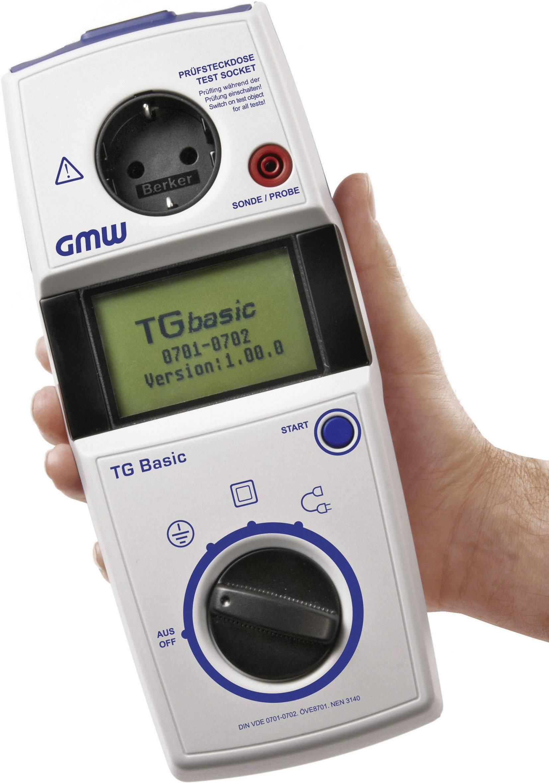 Revizní přístroje GMW TG basic 1 Kalibrováno dle ISO