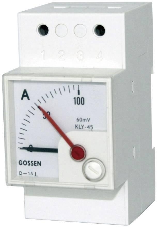 Analógový panelový merač GMW DQB 45H, MB 20 mA, Sk 100 % 4520000000B