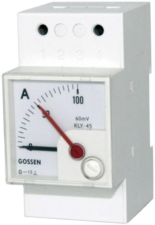 Analogový měřicí přístroj na DIN lištu GMW DQB 45H, MB 0/4 - 20 mA