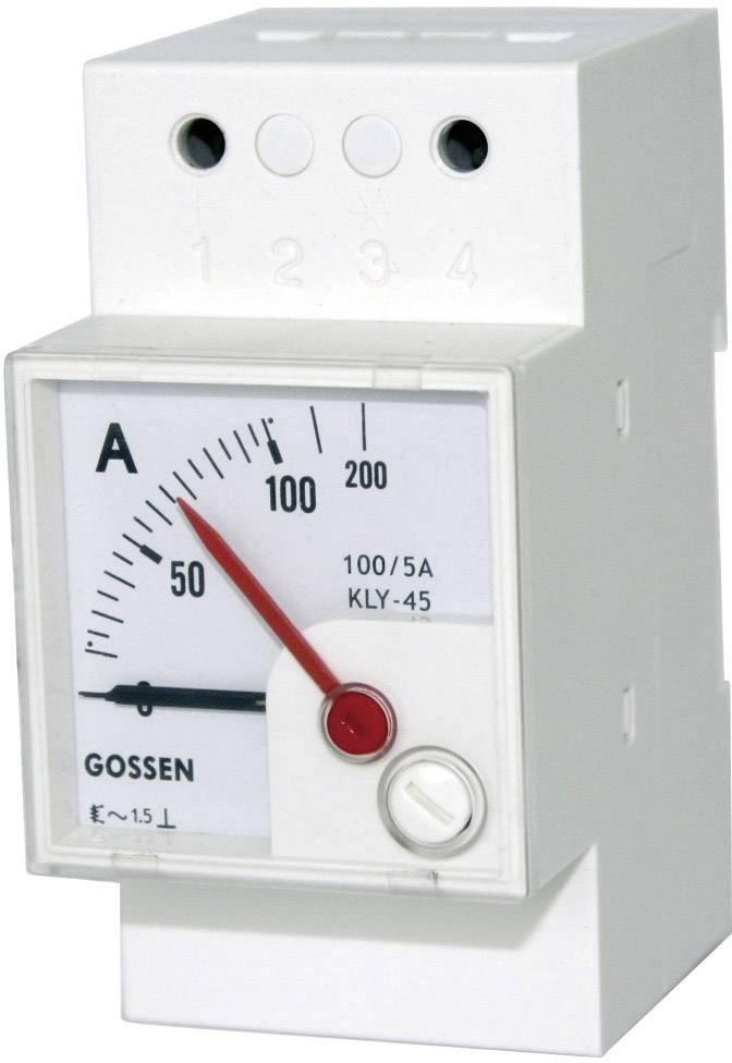 Elektromagnetický měřicí přístroj na DIN lištu GMW EQB 45H, 500 V