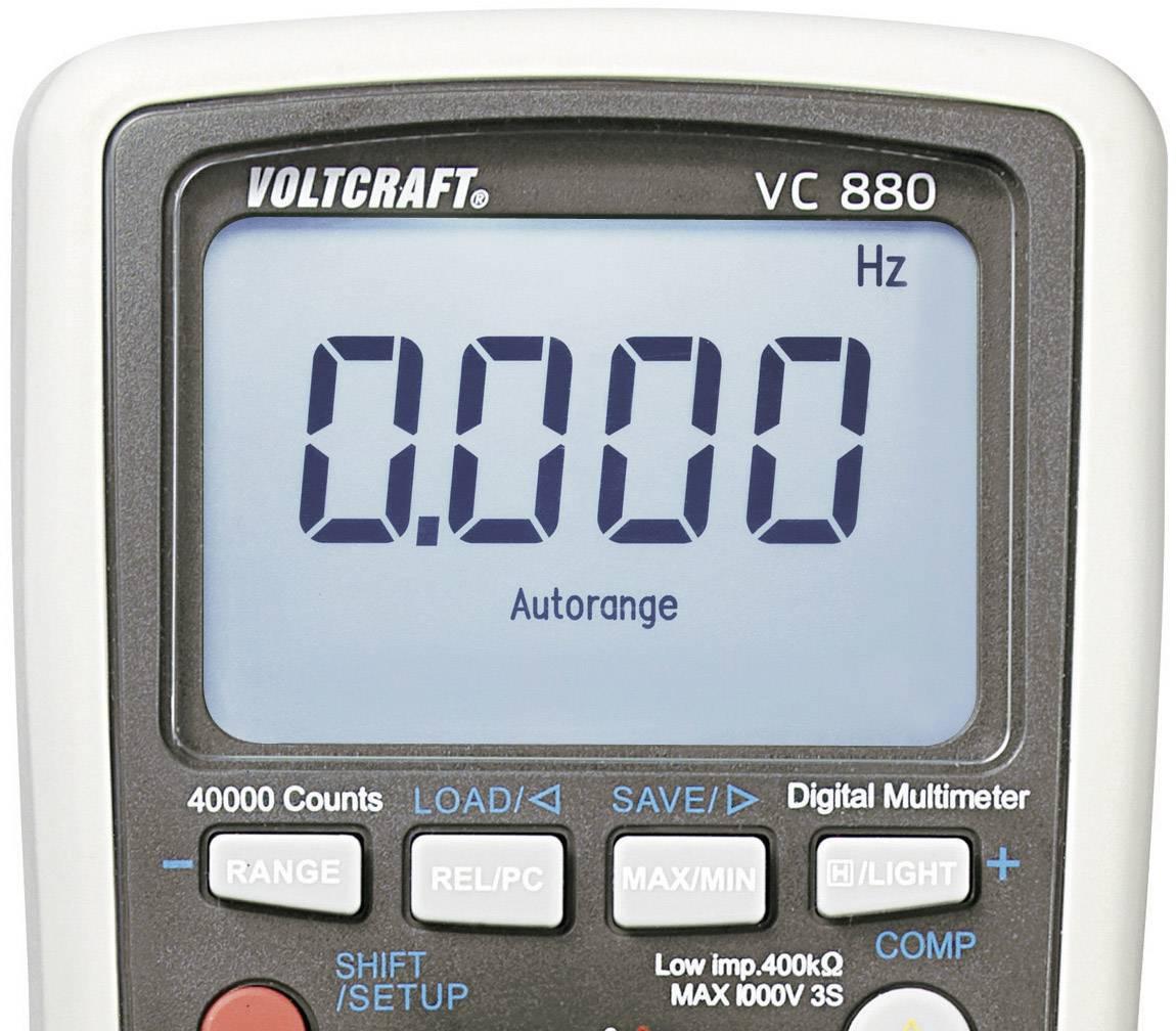 Digitální multimetr Voltcraft VC-880