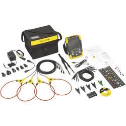 Analyzátor sítí a napájení Fluke 434-II - kalibrace dle ISO Fluke 434-II 4116638, CAT IV 600 V / CAT III 1000 VKalibrováno dle ISO