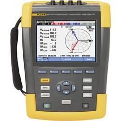 Analyzátor sítí a napájení Fluke 437-II/Basic, kalibrace dle ISO Fluke 437-II/BASIC 4116719, CAT IV 600 V / CAT III 1000 VKalibrováno dle ISO