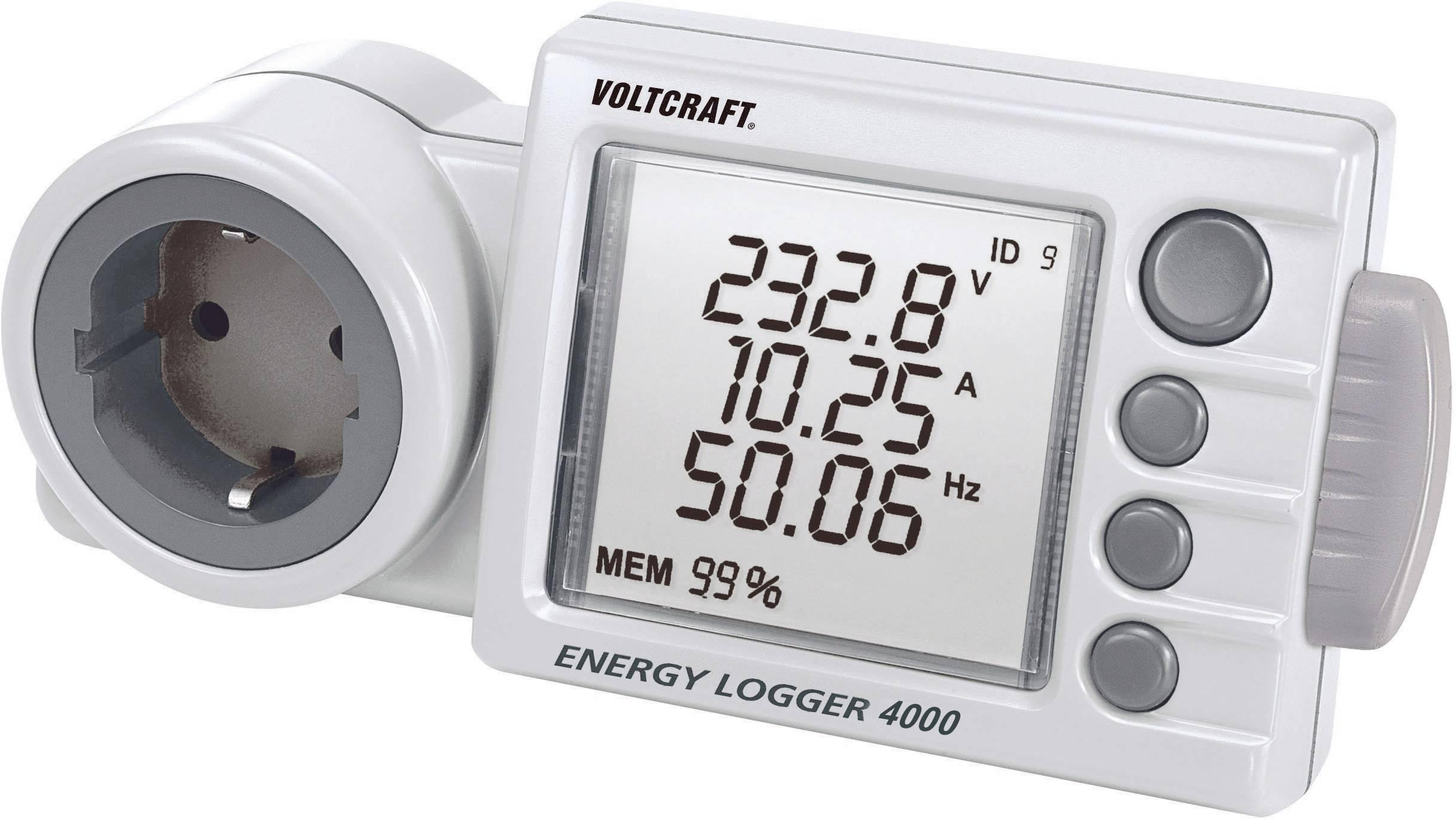 Měřič spotřeby Voltcraft Energy Logger 4000