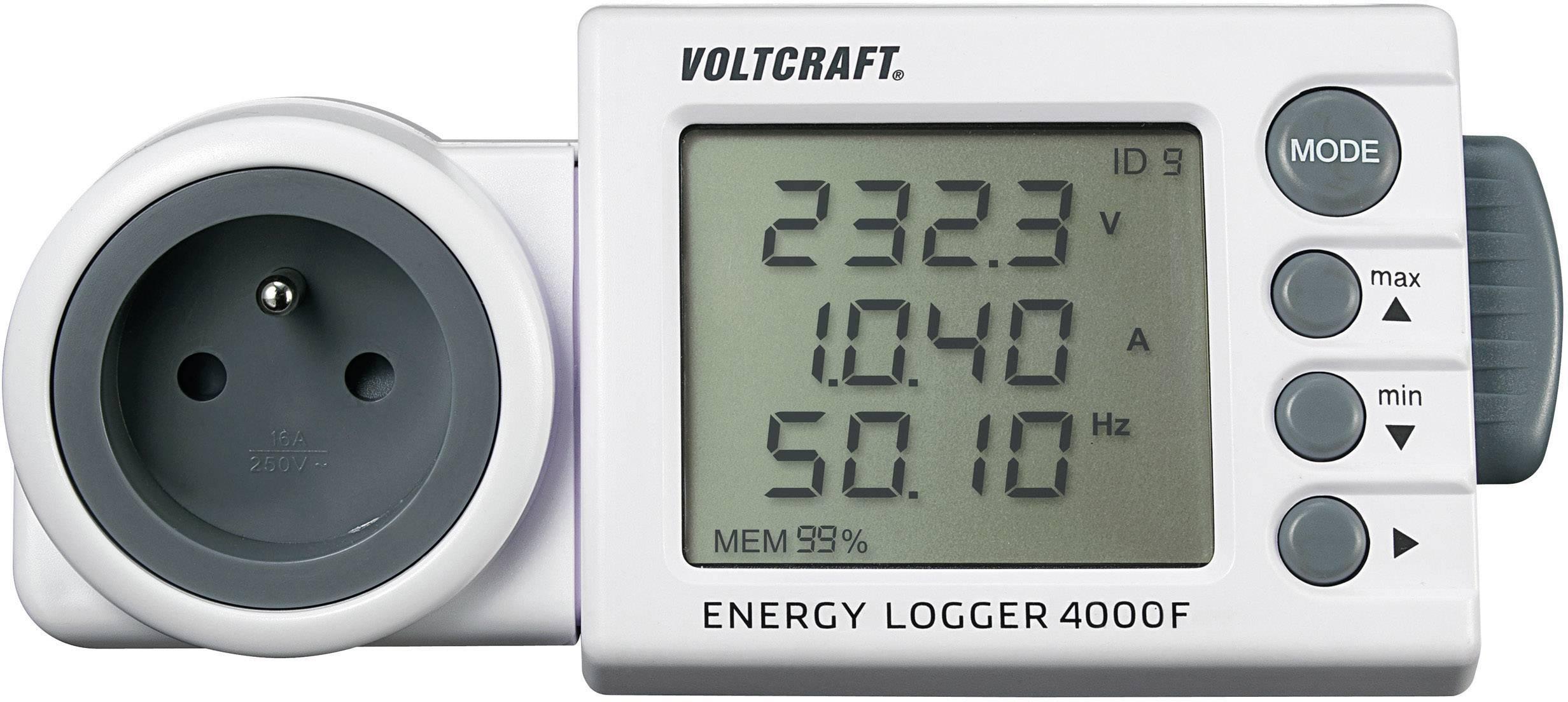 Měřič spotřeby el. energie VOLTCRAFT ENERGY-LOGGER 4000 FR