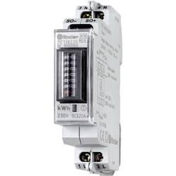 Jednofázový elektroměr mechanické Finder 7E.13.8.230.0010-1, 32 A