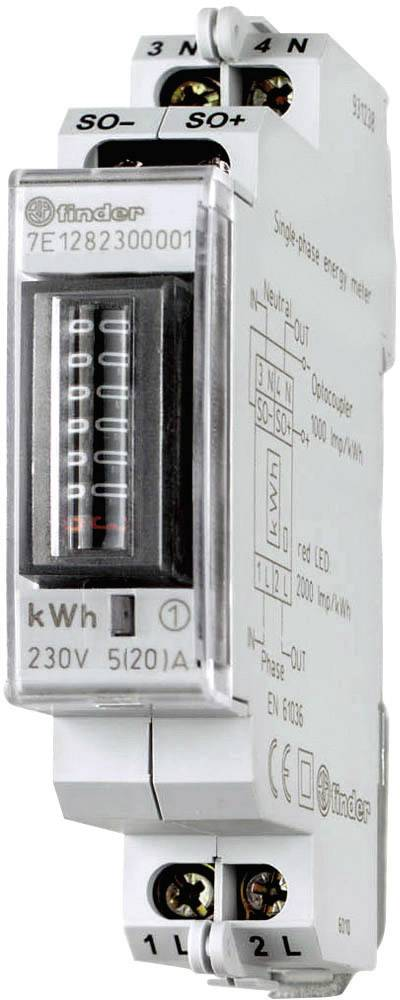Jednofázové elektromery striedavého prúdu - 20 A