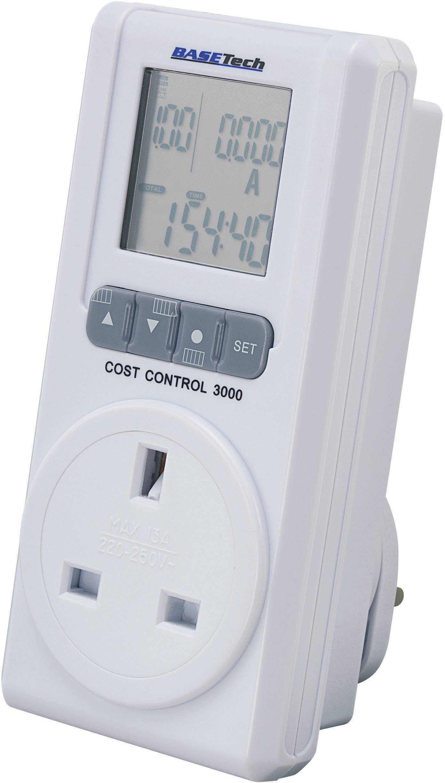 Měřič spotřeby energie Basetech Cost Control 3000 (anglická verze)