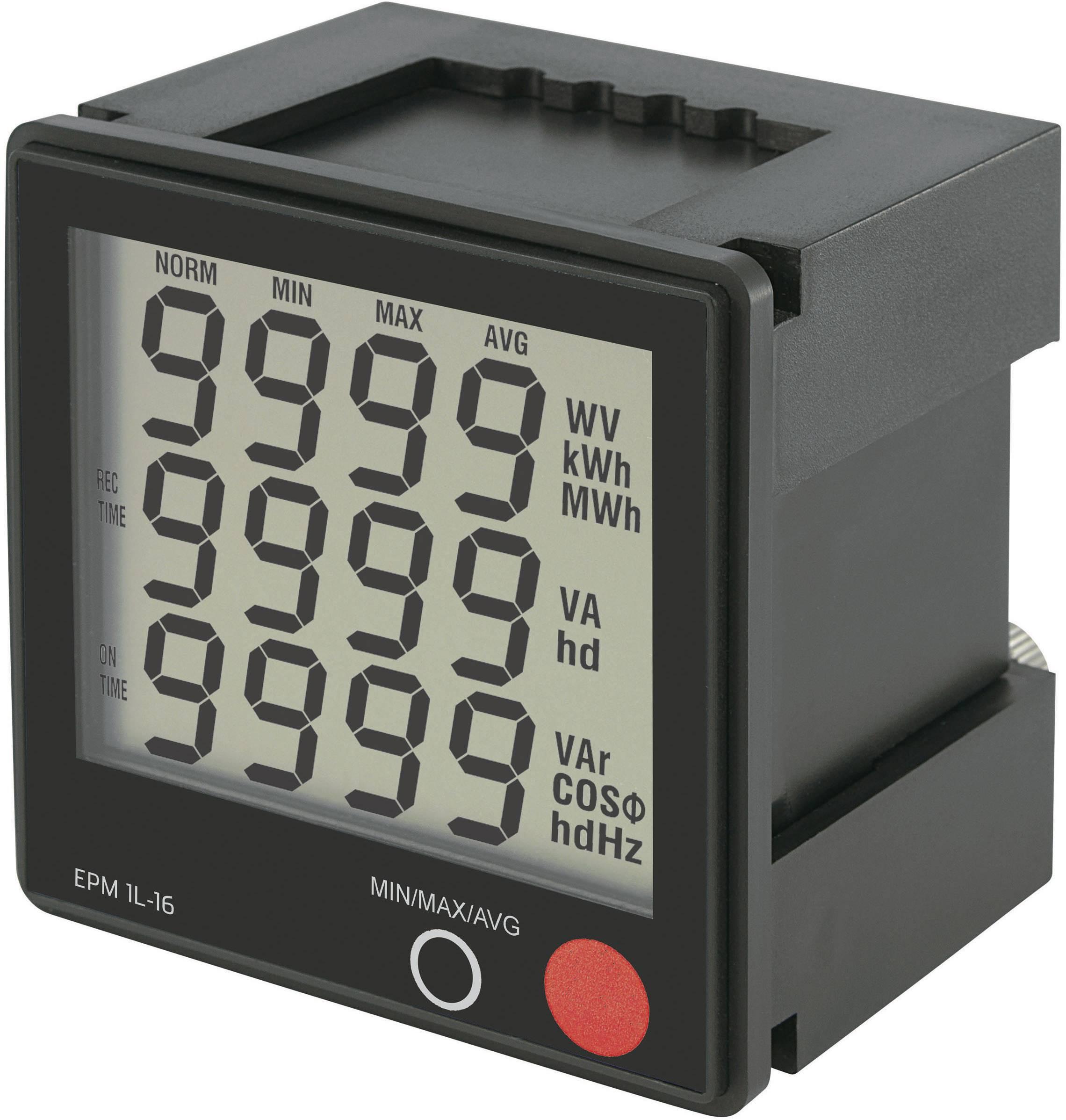 Digitálny merač k zabudovaniu Voltcraft EPM 1L16