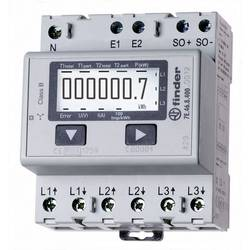 Třífázový elektroměr Finder 7E.46.8.400.0012, 65 A MID, na DIN lištu