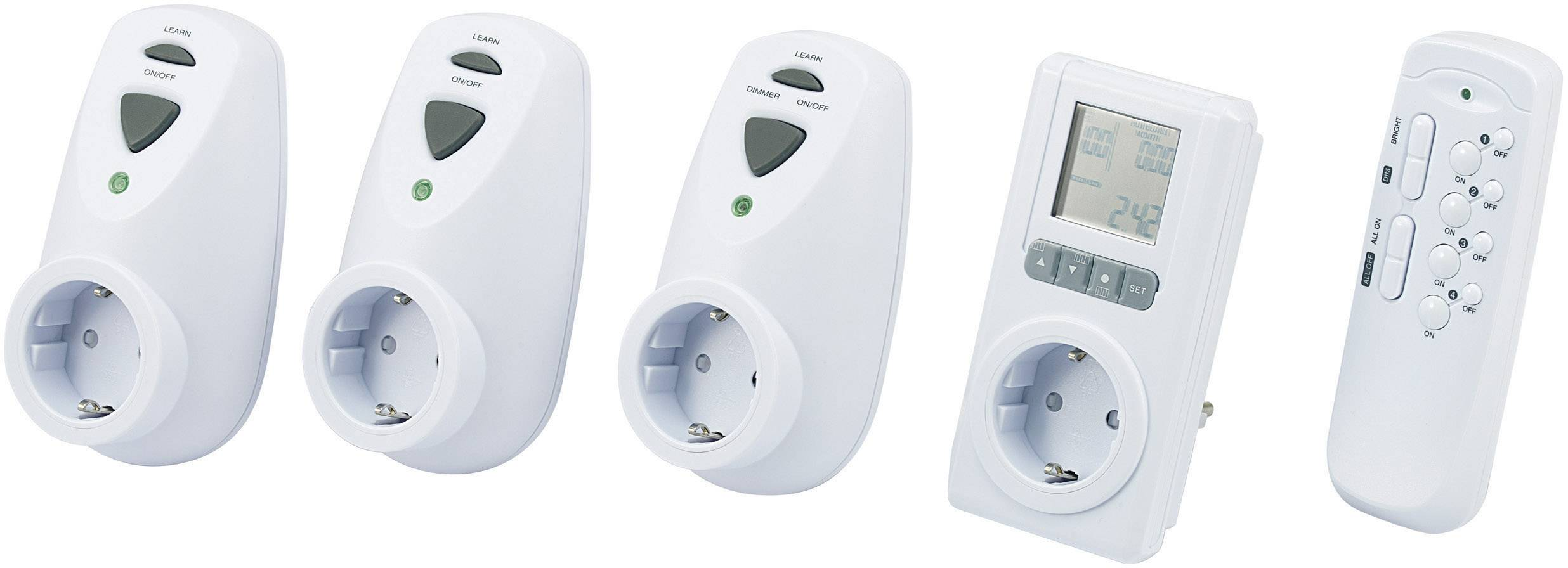 Sada meračov úspory energie do zásuvky Cost Control 3000