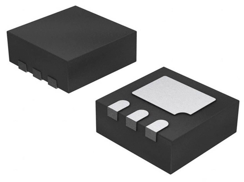 Tranzistor MOSFET Nexperia PMXB40UNE, DFN-3, Kanálov 1, 12 V, 400 mW