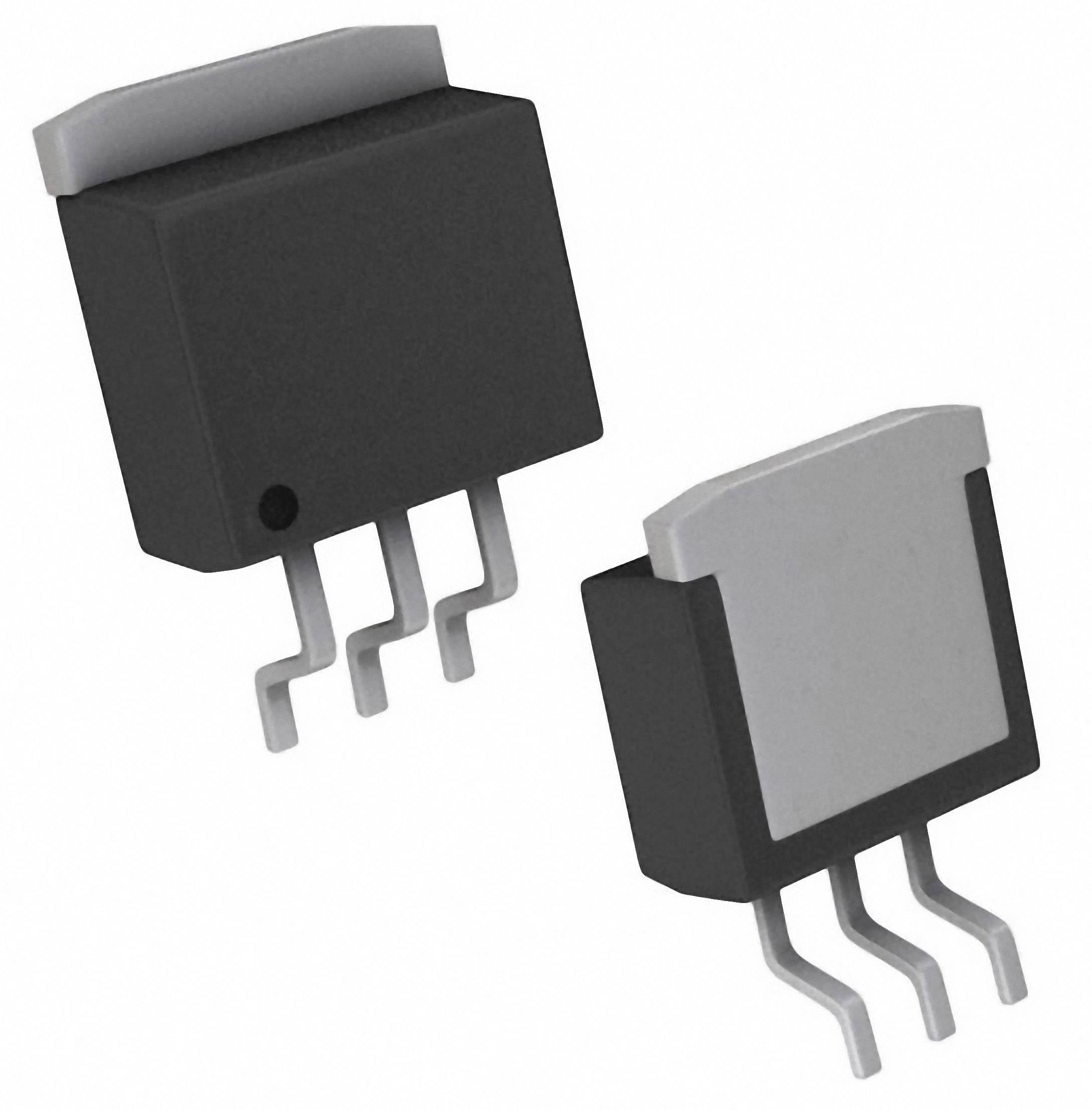 PMIC regulátor napětí - lineární Linear Technology LT1117CM-5#PBF pozitivní, pevný D2PAK-3