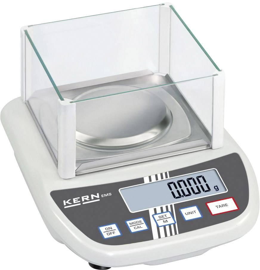 Váha na listy Kern EMS 6K0.1, presnosť 0.1 g, max. váživosť 6 kg