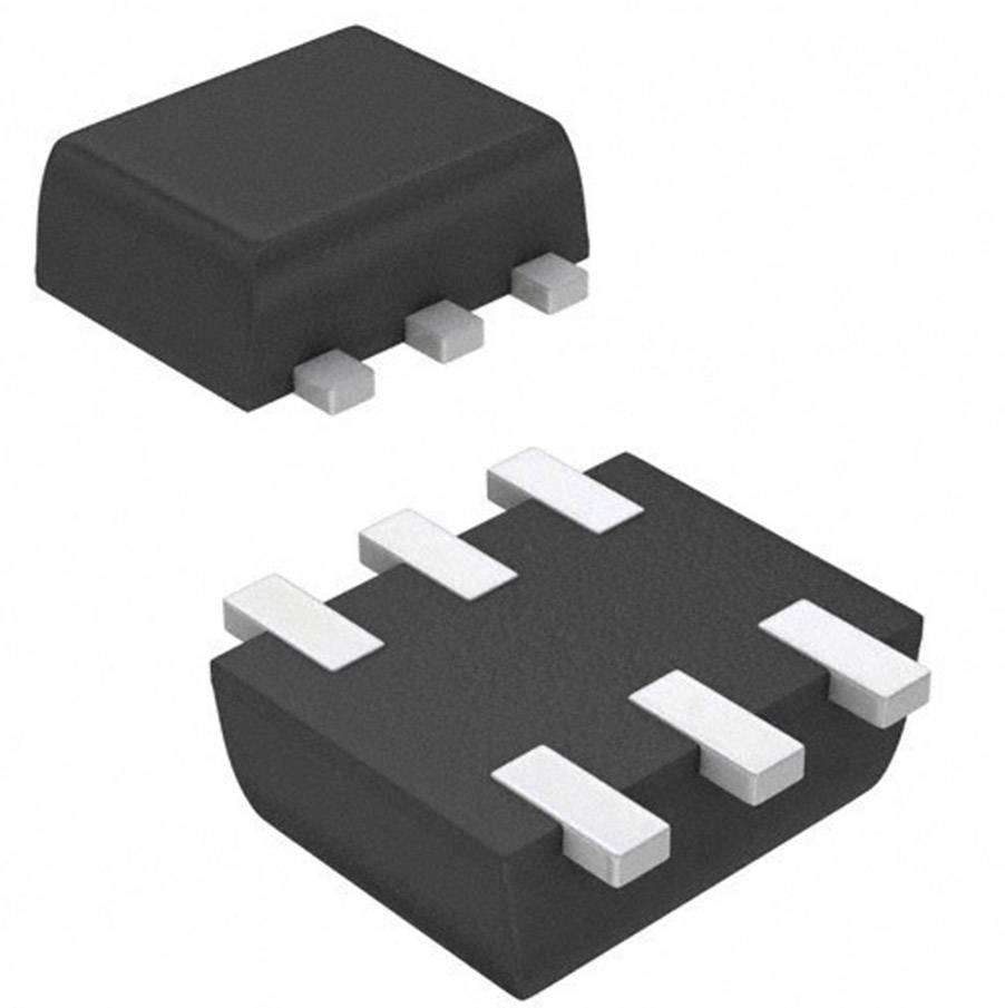 MOSFET Fairchild Semiconductor N kanál N CH DL 60V 28 2N7002V SOT-563F FSC