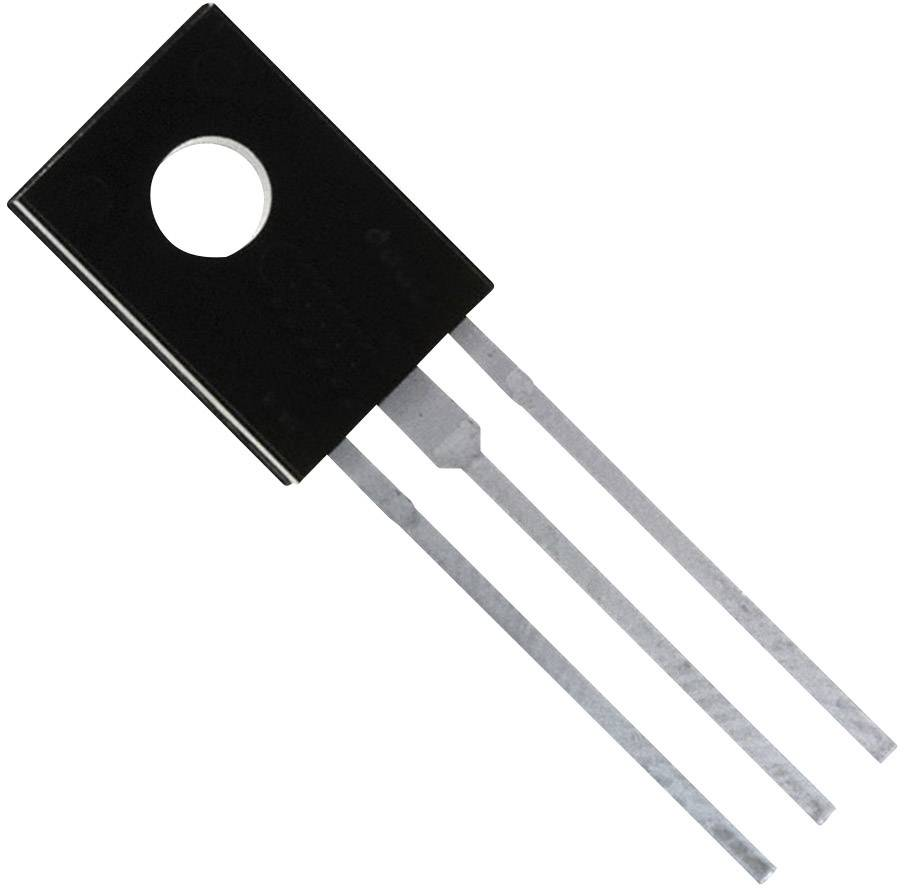 PNP tranzistor (BJT) - Single ON Semiconductor BD138-16STU, TO-126-3, Kanálov 1, -60 V