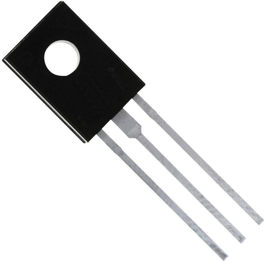 Výkonový tranzistor Darlington STM BD 679, NPN, TO-126, 4 A, 80 V