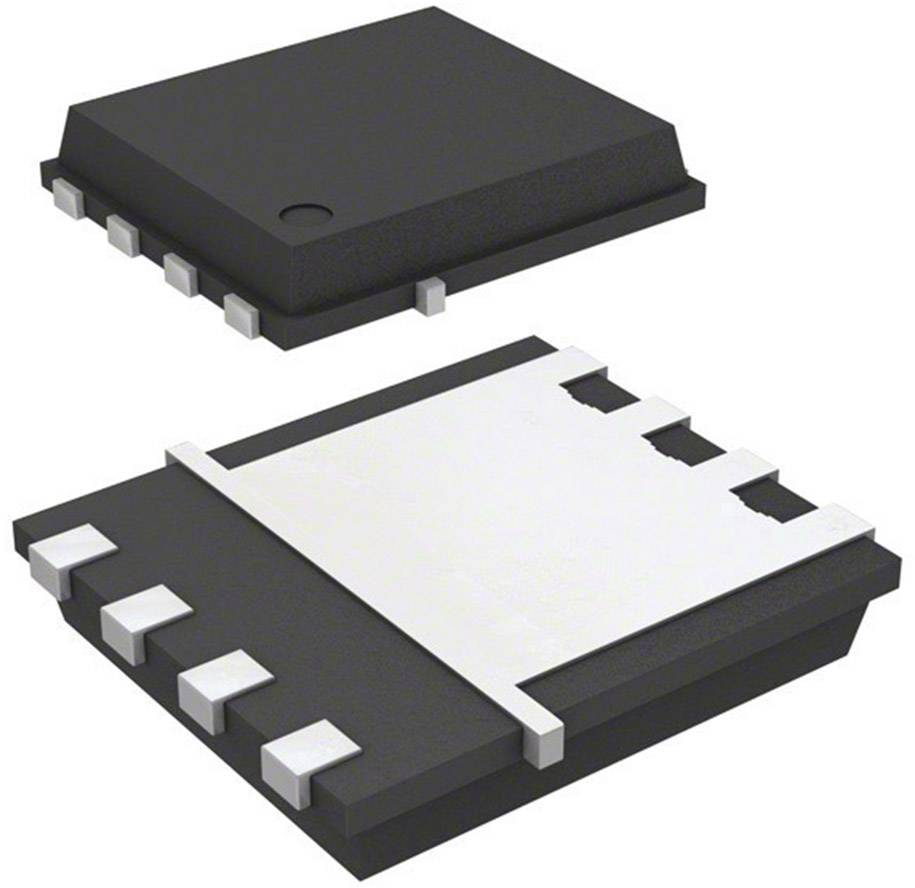 MOSFET Fairchild Semiconductor N kanál 2N-CH 30V FDMS7600AS PQFN-8 FSC
