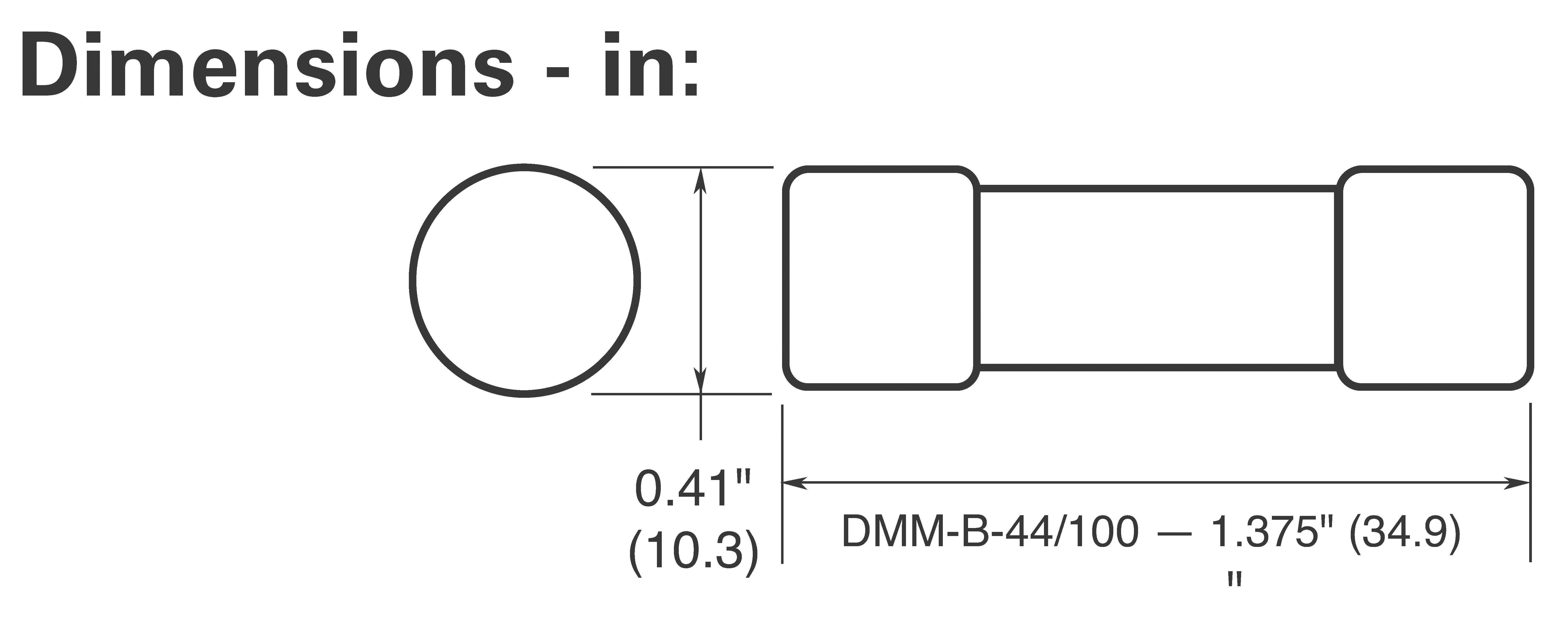 Náhradné poistky Fluke 943121, 440 mA/1000 V