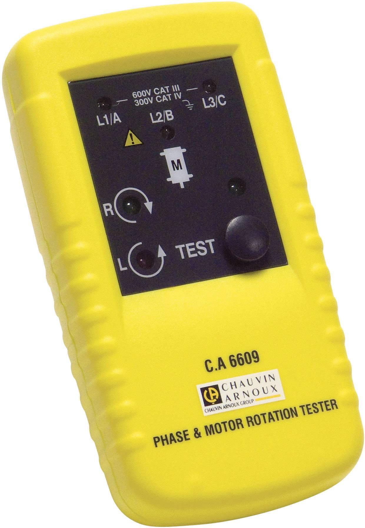 Tester sledu fázy a motora Chauvin Arnoux CA 6609, P01191304