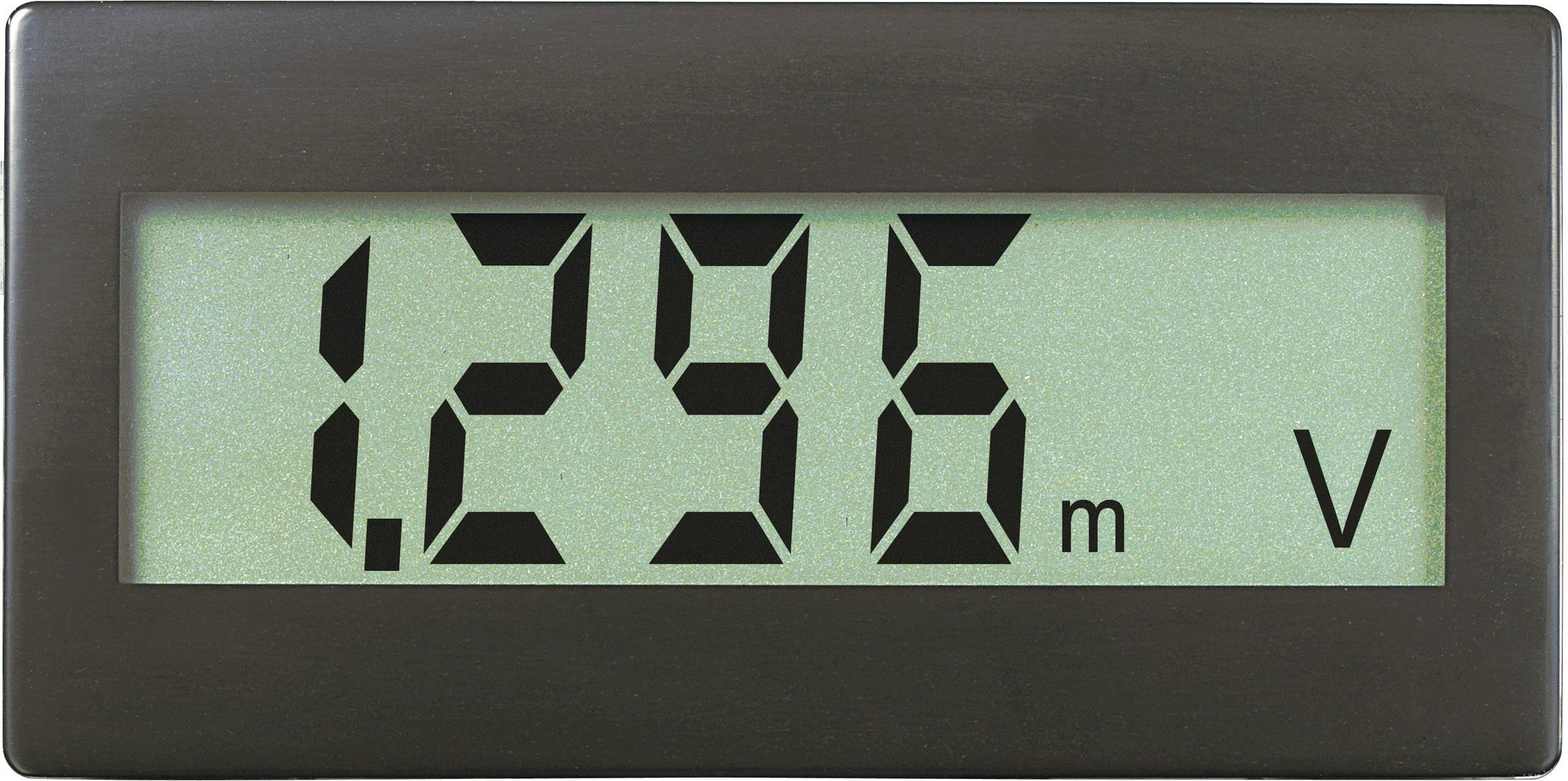 Digitálne panelové meradlo Voltcraft DVM-230G, 45 x 22 mm