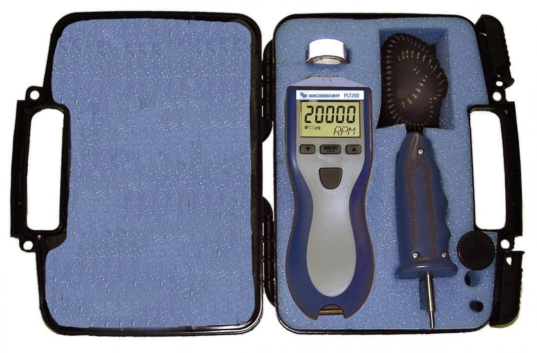 Laserový otáčkoměr s kufrem Wachendorff PLT200