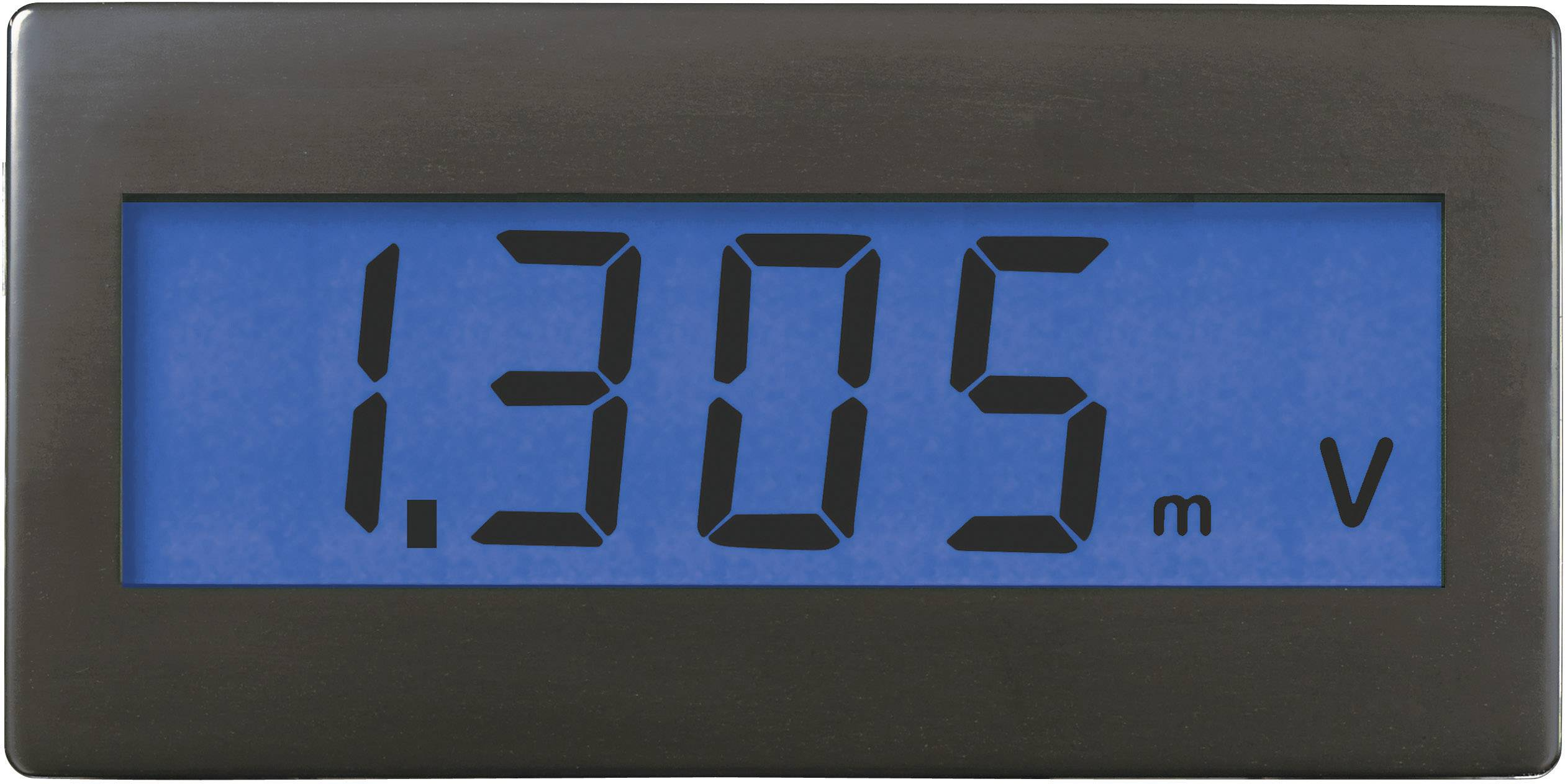 Digitálne panelové meradlo Voltcraft DVM-330B, 68 x 33 mm
