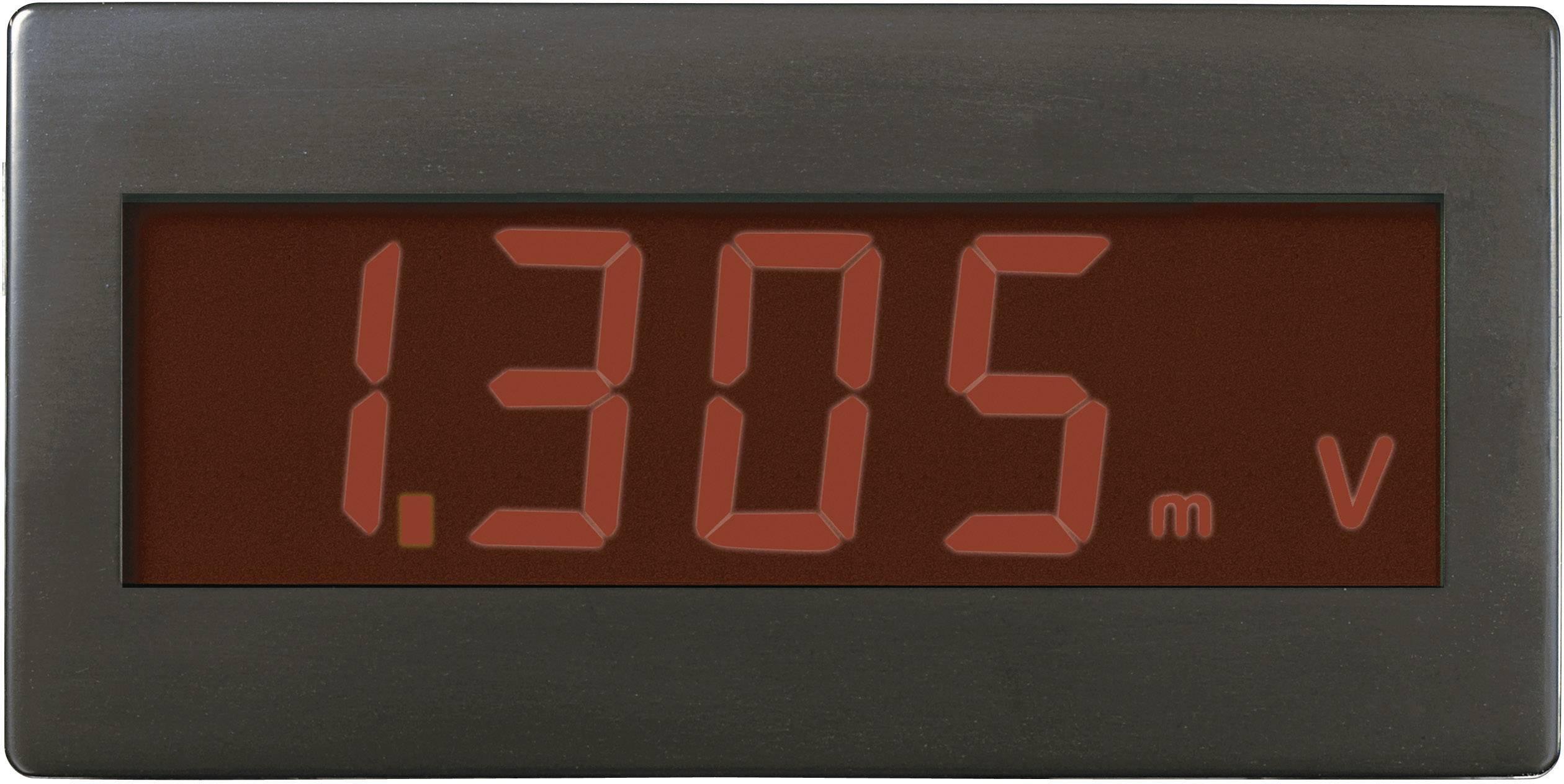 Digitálne panelové meradlo Voltcraft DVM-330RN, 68 x 33