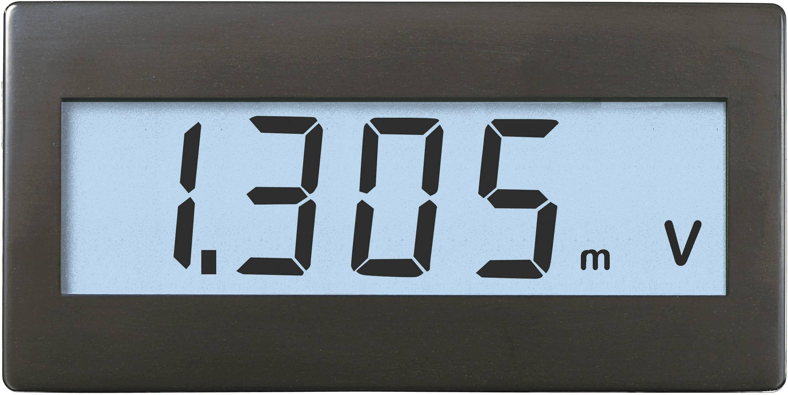 Panelové měřidlo Voltcraft DVM-330W, 68 x 33 mm, ±199,9 mV