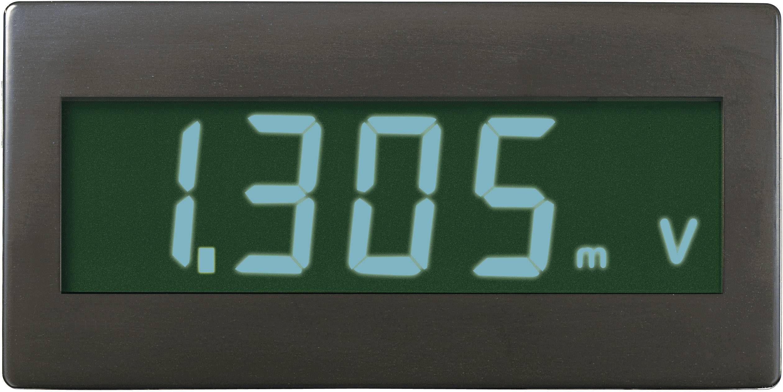 Digitálne panelové meradlo Voltcraft DVM-330GN, 68 x 33