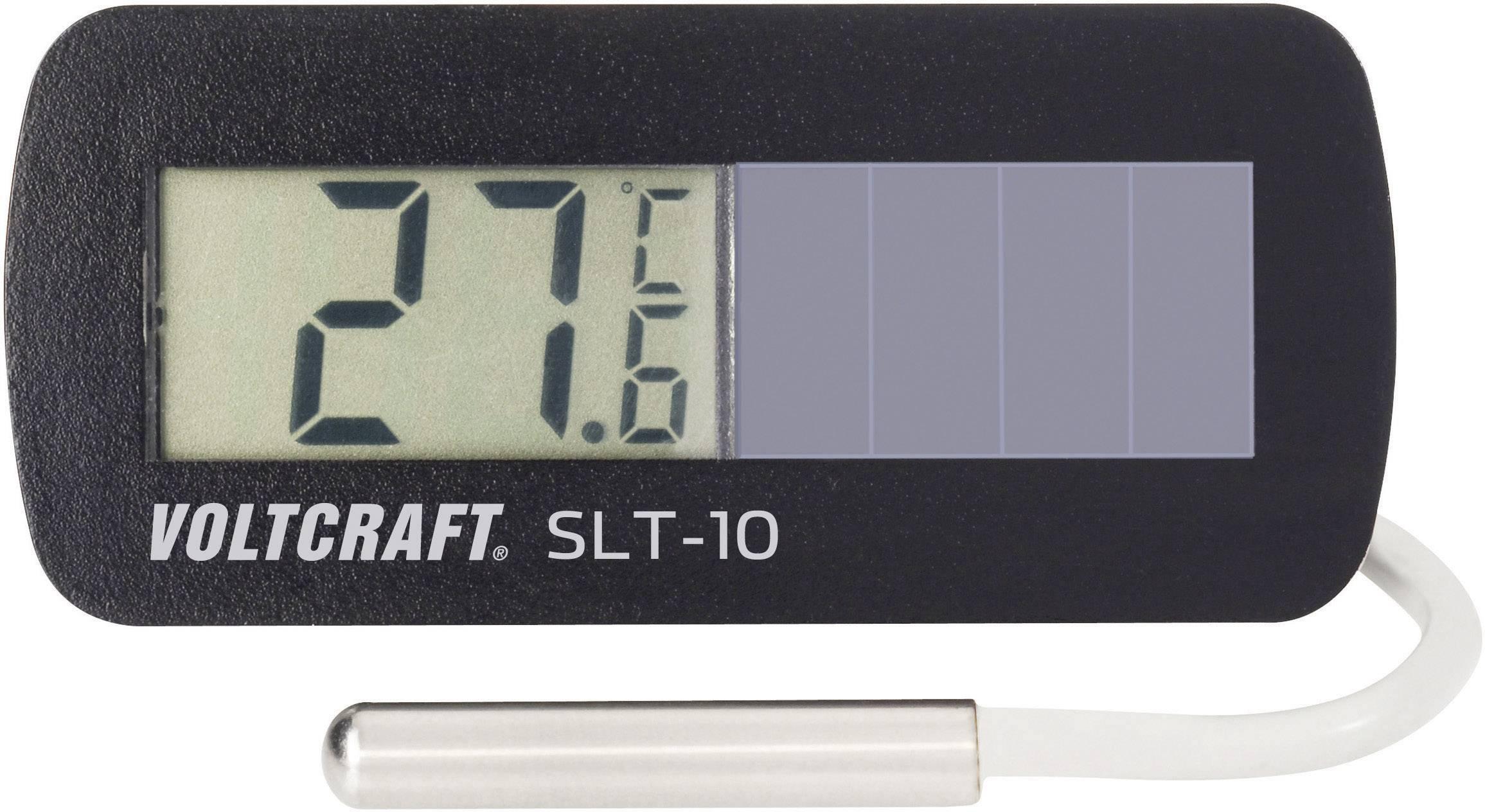 Solárny zabudovateľný teplomer Voltcraft SLT-10