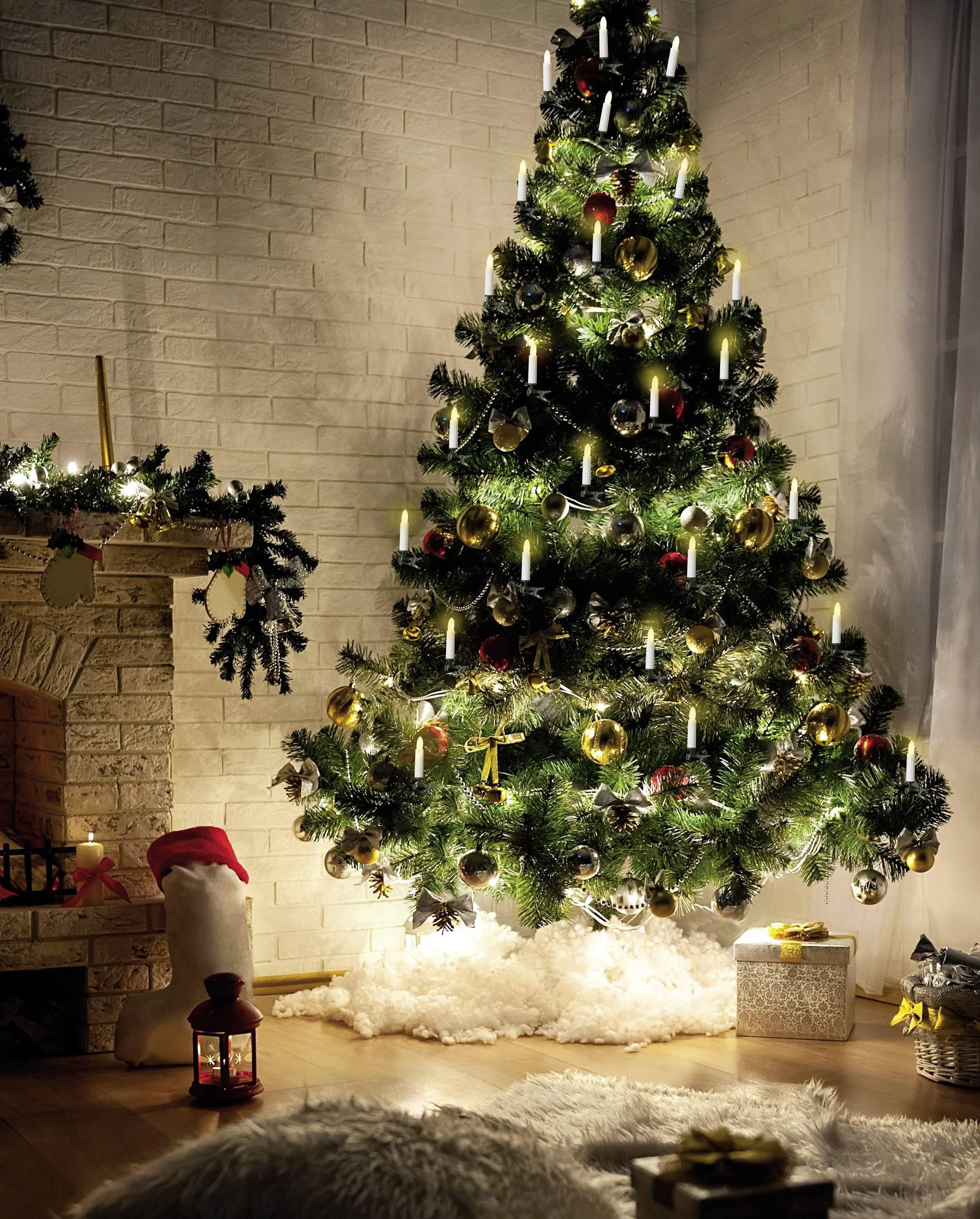 Vnútorná vianočná reťaz Polarlite LCA-01-001, 16 sviečok, 11 m, do siete
