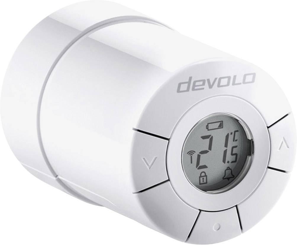 Bezdrôtoví termostatatická hlavica na radiátor Devolo Devolo Home Control 9356, max. dosah 20 m