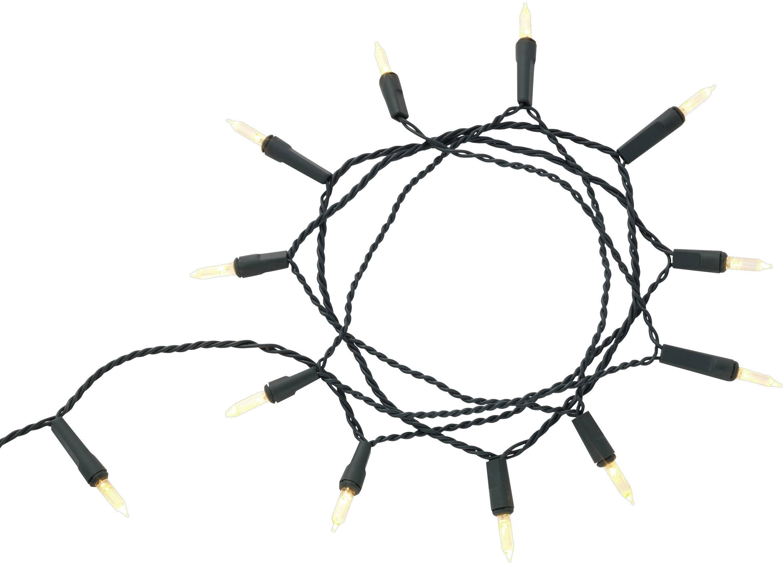 LED mini světlelný řetěz Polarlite venkovní PLC-03-007, 230 V, LED 80, teplá bílá, 16.85 m