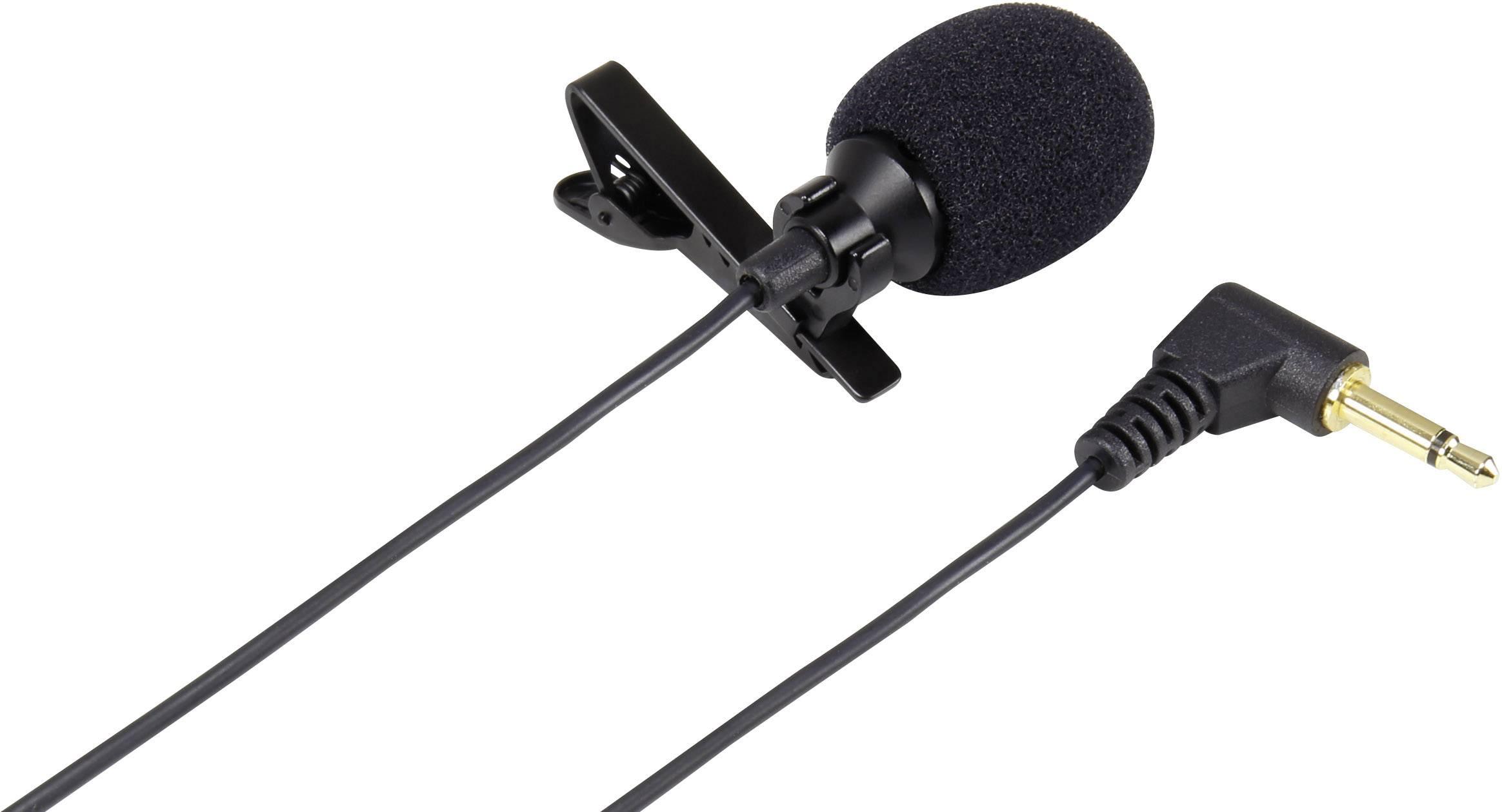 Pripínací mikrofón Renkforce TCM160